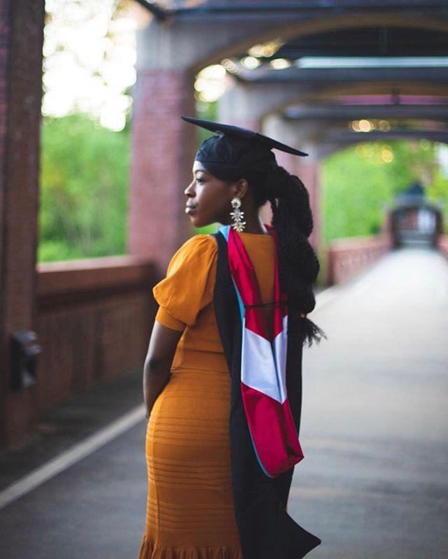 Congratulations to @_inherlane 👏🏾🎉 #MasteredIt 🎓✊🏾#trynagrad