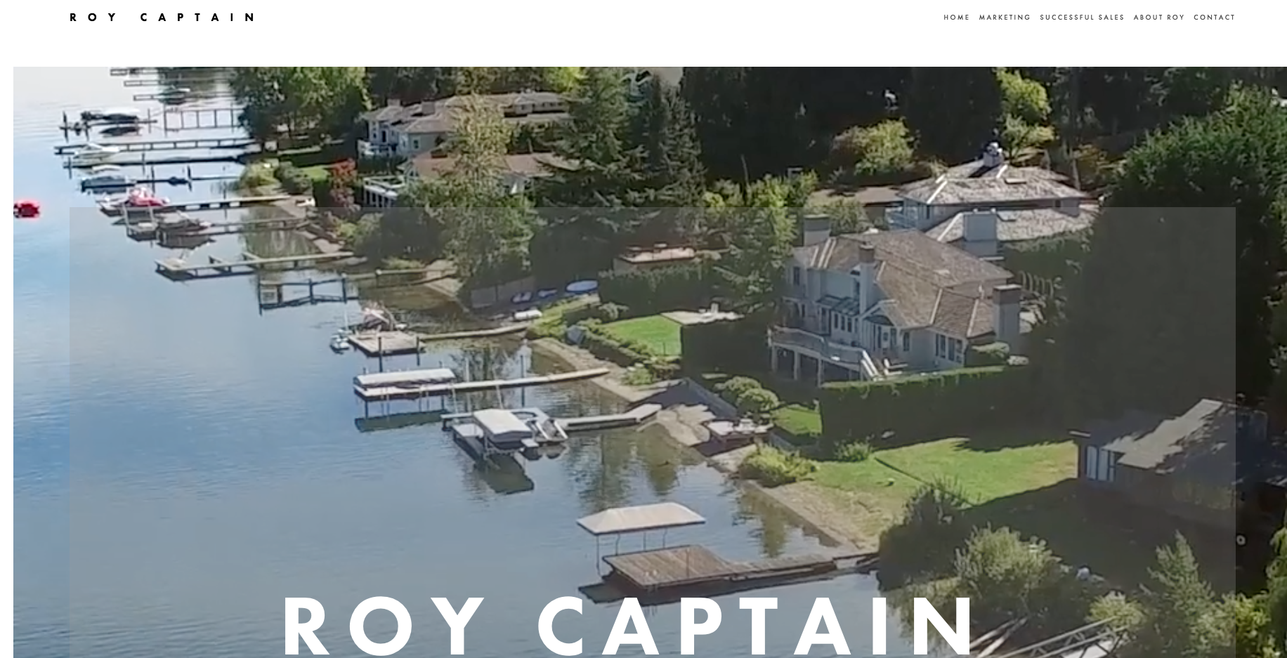 ROY CAPTAIN - MARKETPLACE SOTHEBYS INTERNATIONAL REALYTRESIDENTAL REAL ESTATE