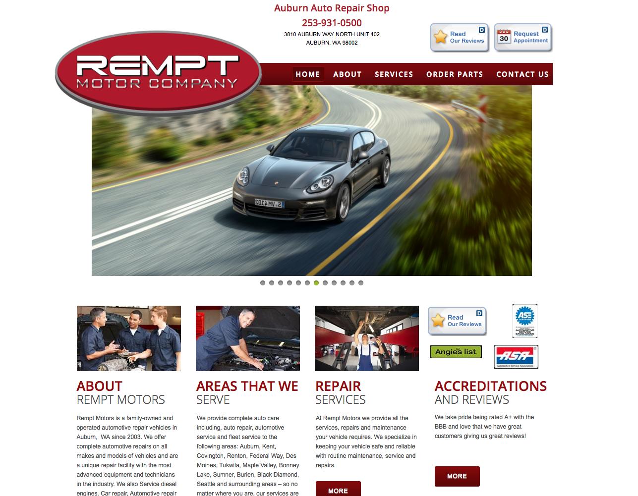 REMPT AUTO REPAIR - (Not an active site)