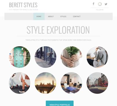 BERETT STYLES - (Not an active site)