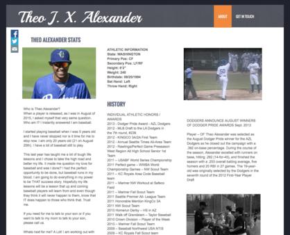 THEO ALEXANDER -