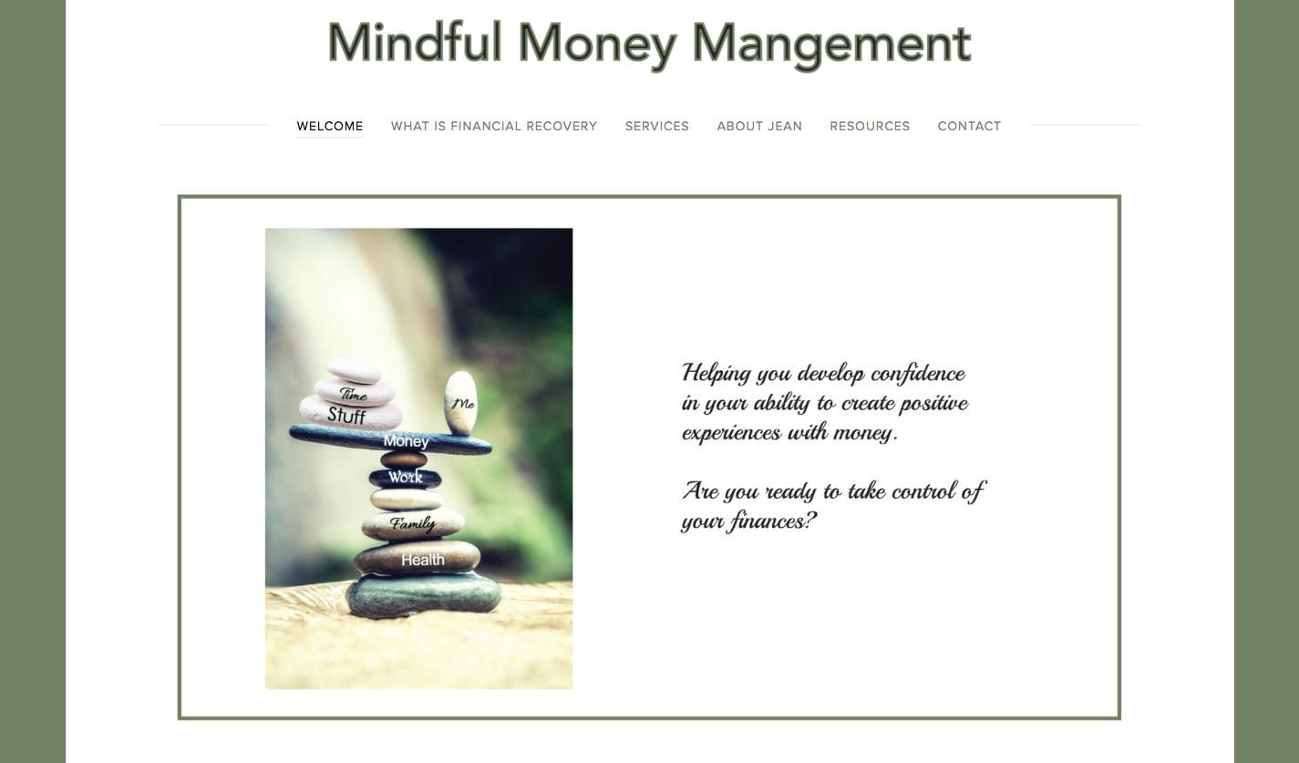 MINDFUL MONEY MANAGEMENT - (Not an active site)