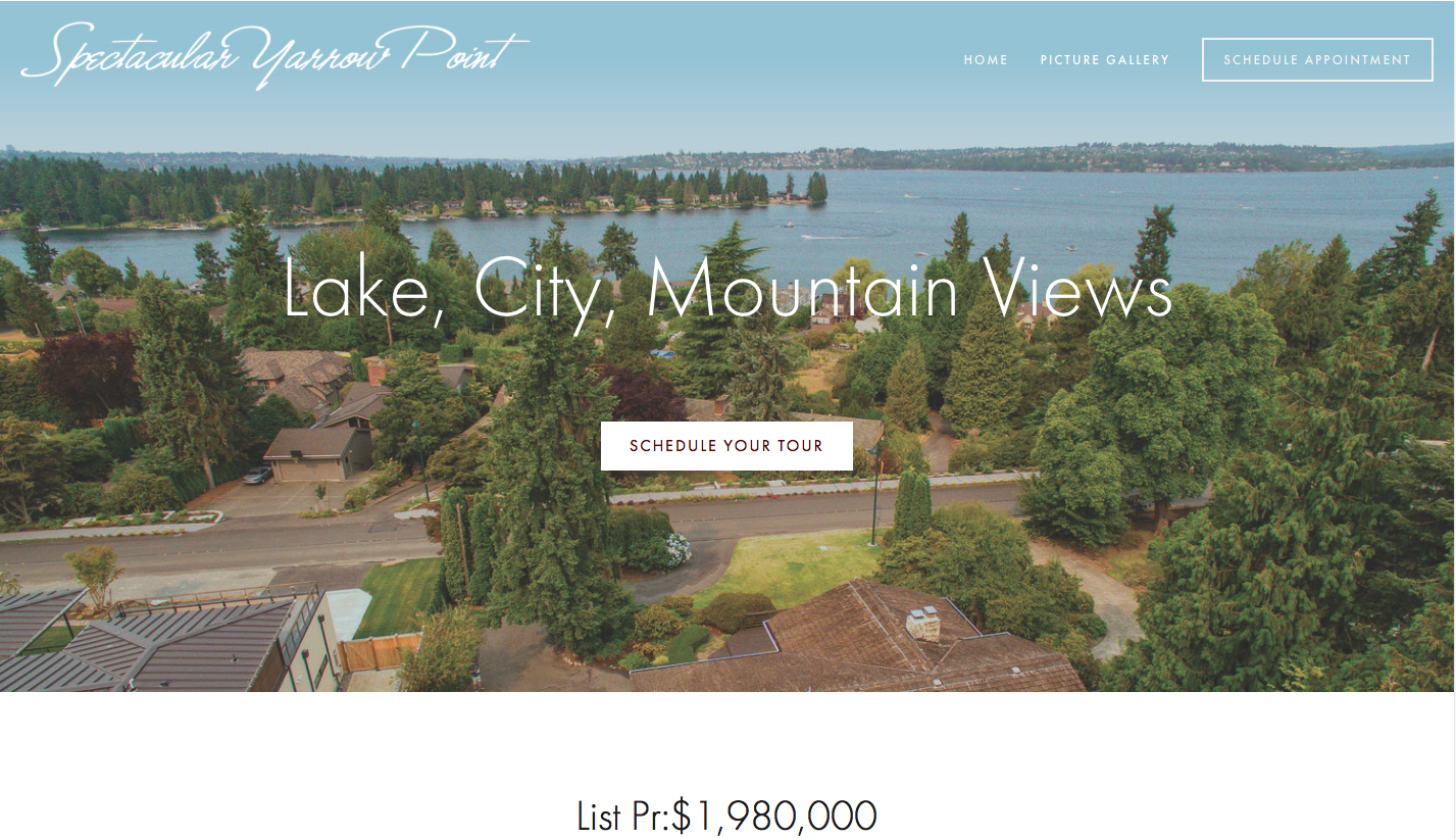 SPECTACULAR YARROW POINT - SOLD (Site no longer active)