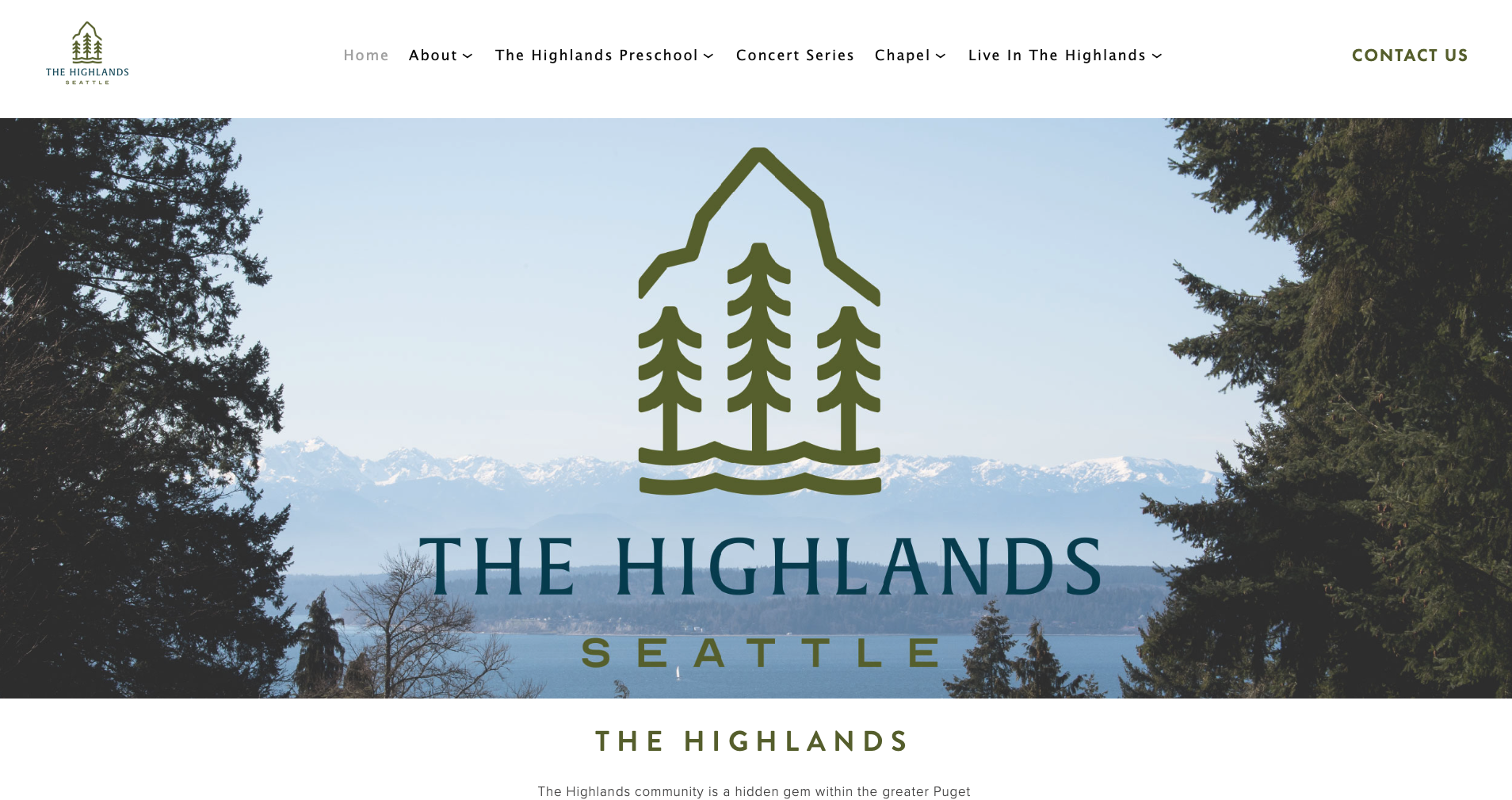 THE HIGHLANDS - SeaTTLE