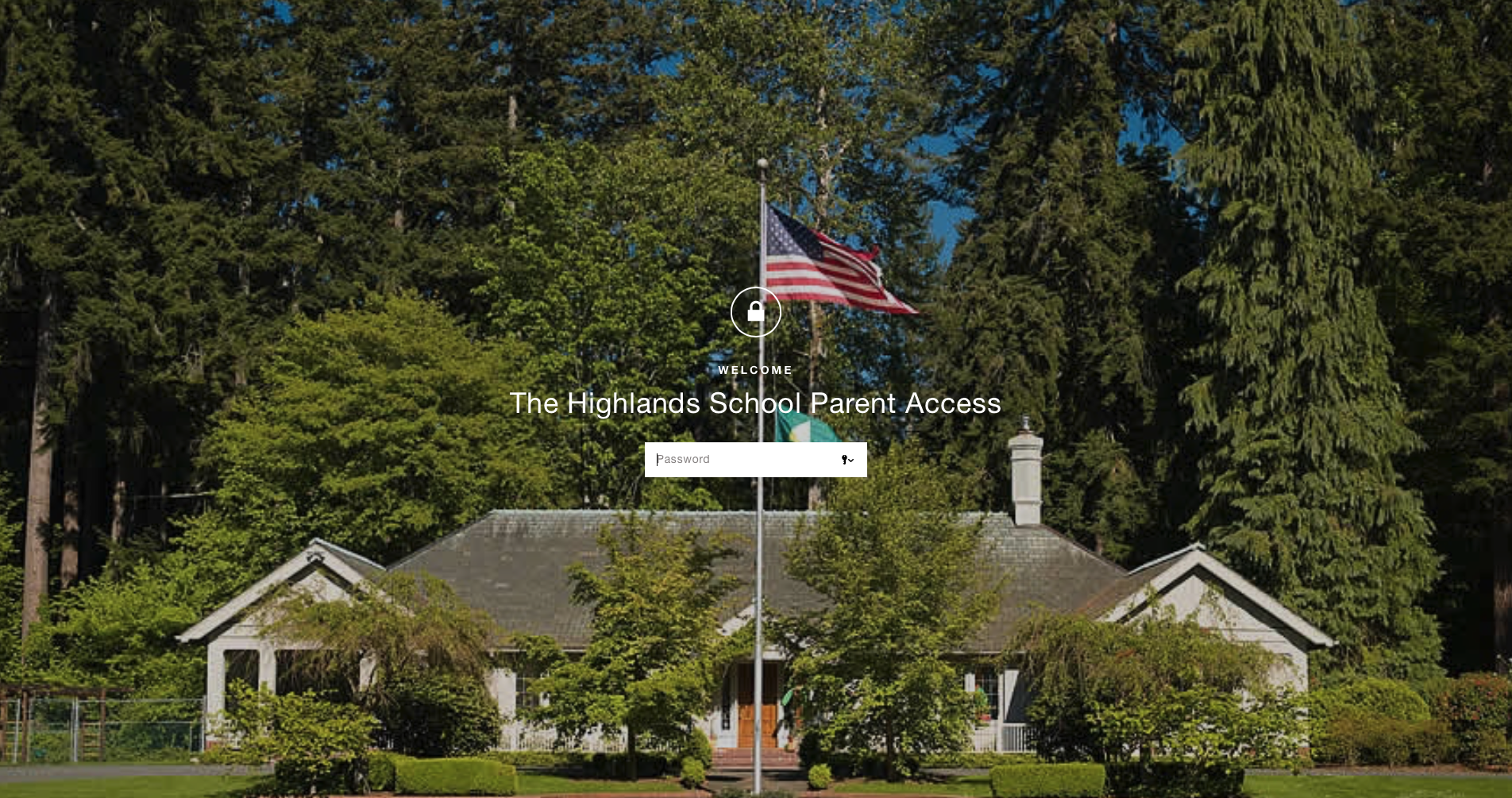 The Highlands School Parent Access - Password protected