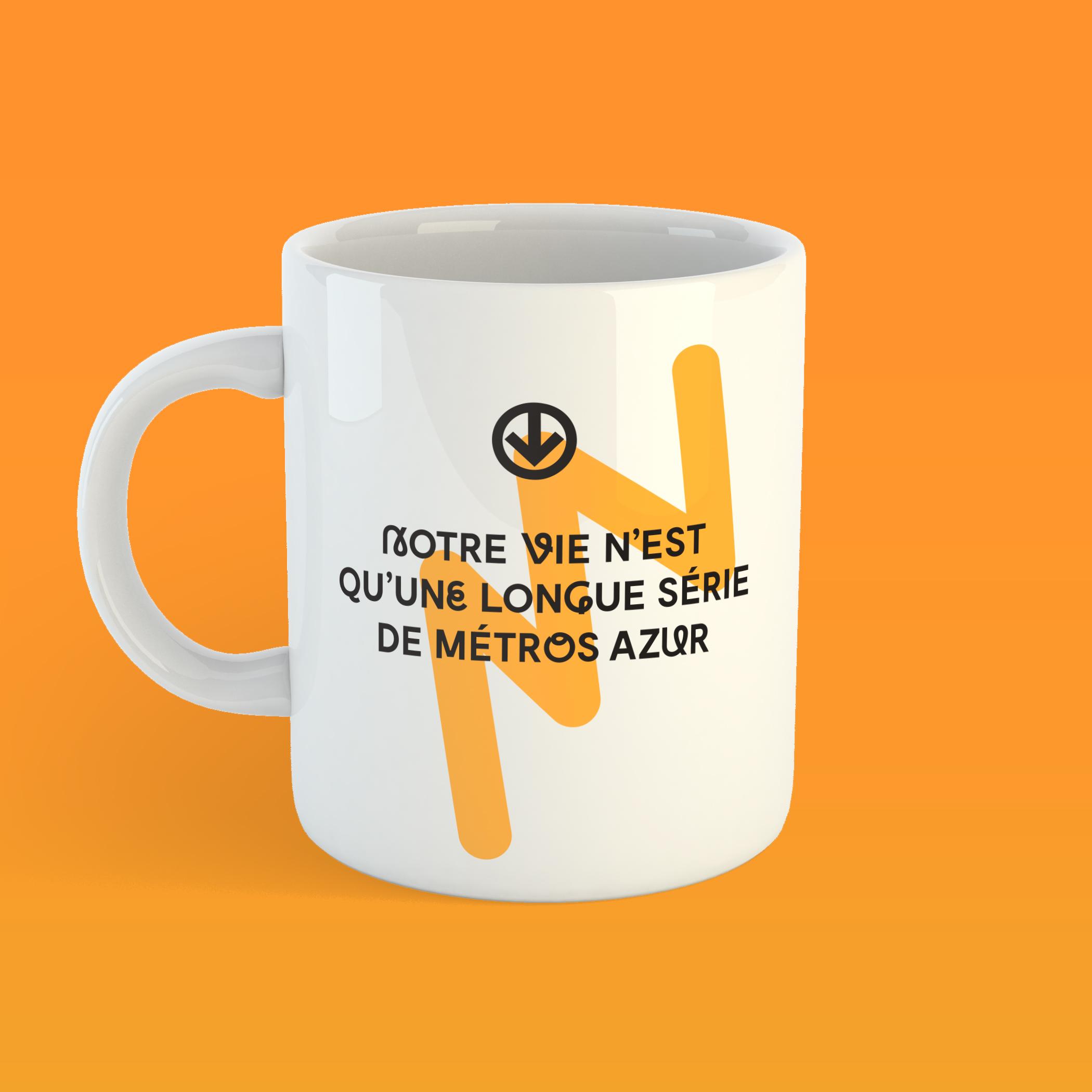Les Sans-dessin   Notre vie n'est qu'une longue série de métros Azur