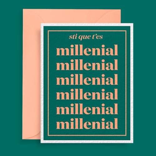 Les Sans-dessins   Sti que t'es millenial