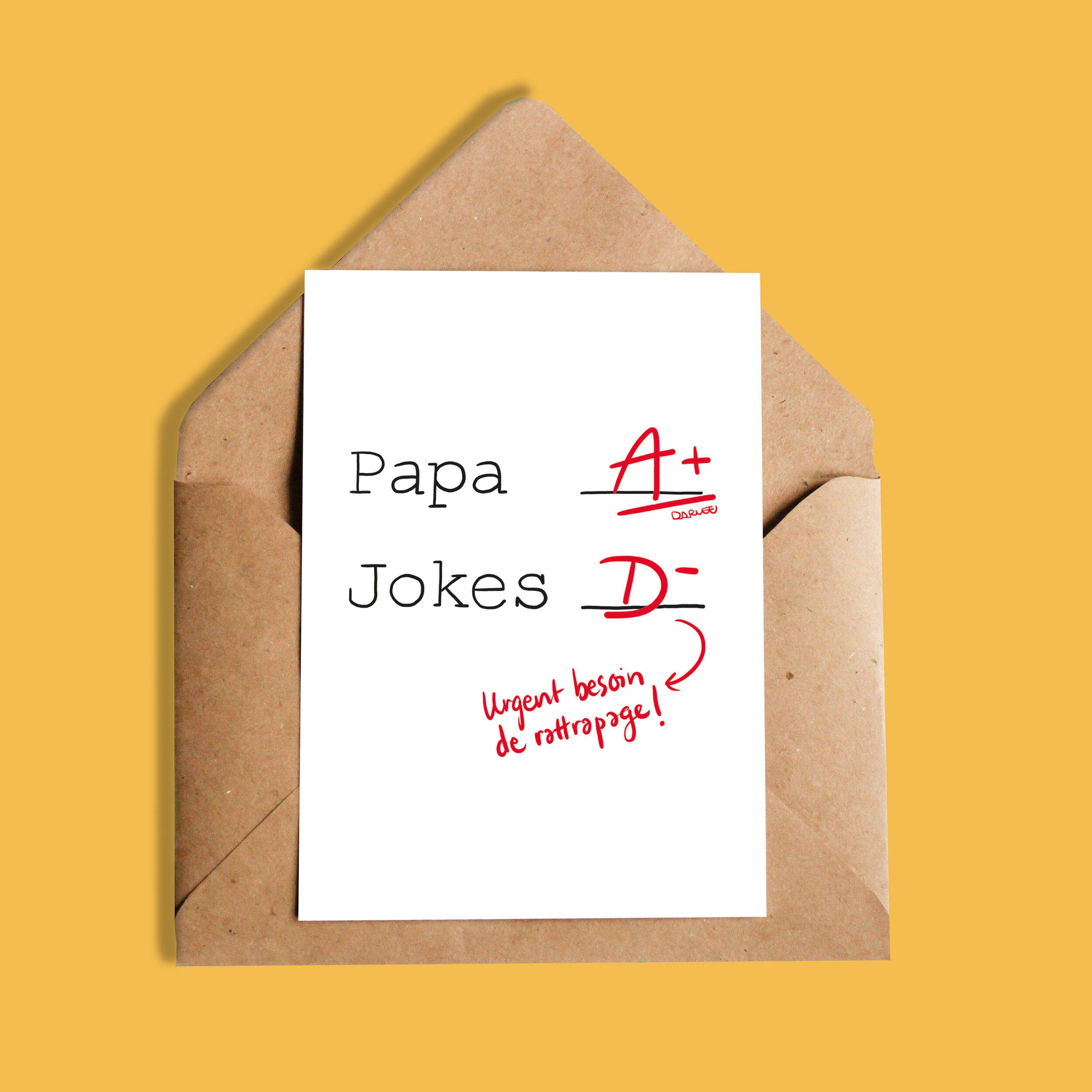 Darvee   Papa A+ Jokes D-