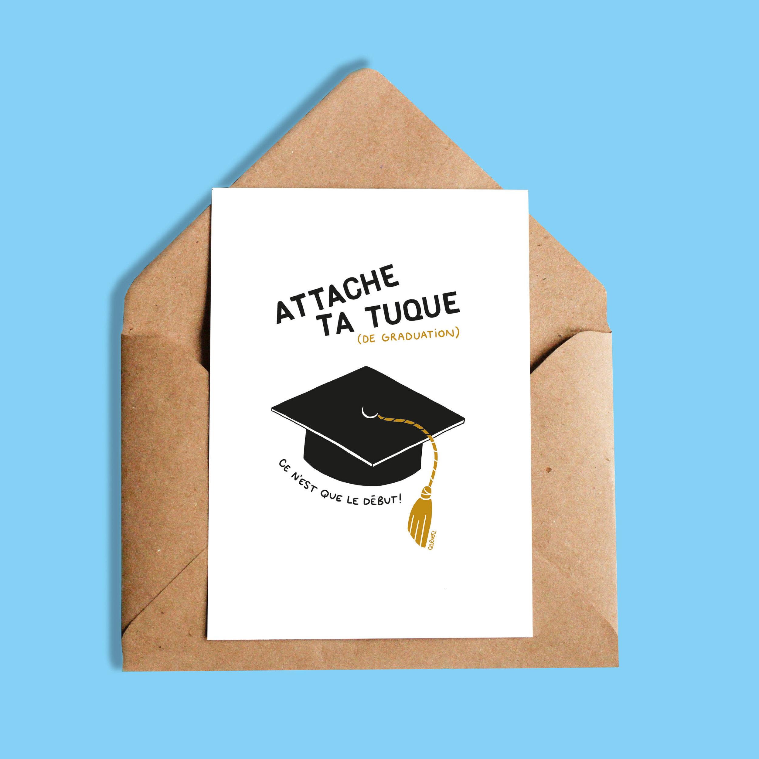 Darvee   Attache ta tuque (de graduation) ce n'est que le début!