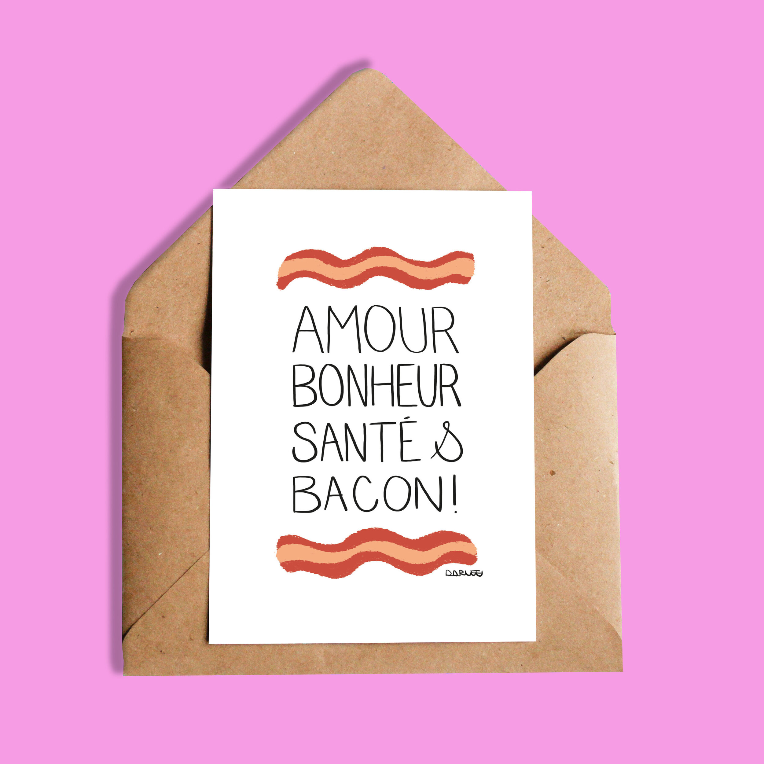 Darvee   Amour bonheur santé & bacon!