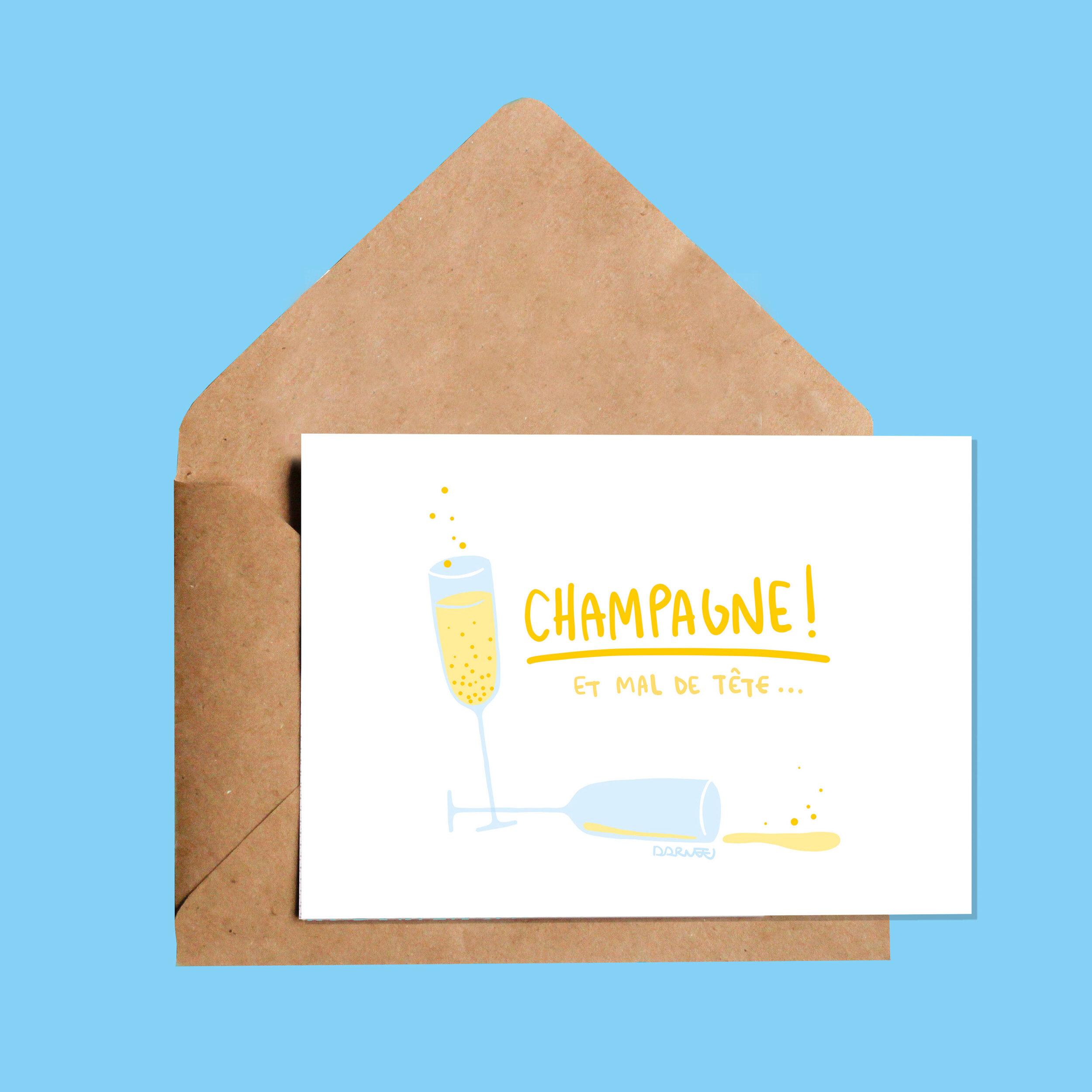 Darvee   Champagne! Et mal de tête…