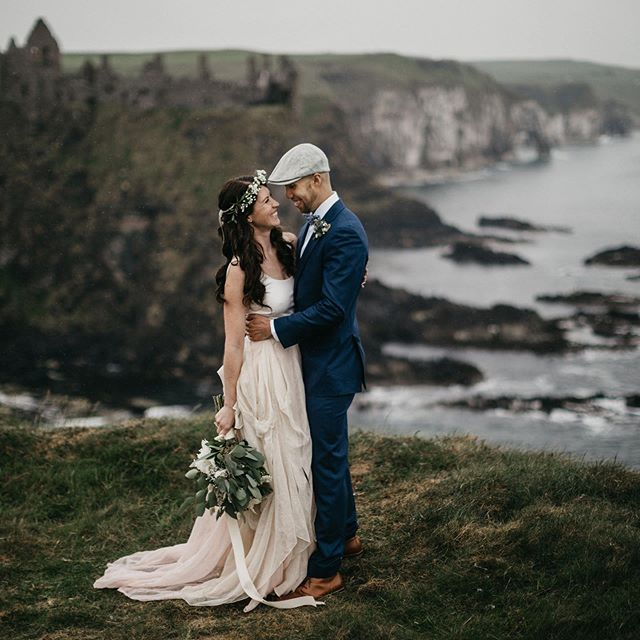Julie + Chris traveled from Philadelphia to the North Antrim Coast to elope recently. We were so honoured to capture their day and get to know them. There's nothing better than when couples choose to do things their own way, looking forward to sharing more of this one with @alisetaggart @thatsotippycal @dontmesswithmytutu . . . . #documentaryweddingphotographer #loveintentionally #belovedstories  #intimatewedding #chasinglight #moodytones #instaweddings #loveandwildhearts #wildlove #wedphotoinspiration #adventurebrides #adventurouswedding  #meaningfulwedding #unconventionaltogs #humanconnectionsstories #nootherlove  #ashevilleweddingphotographer #ncweddingphotographer #ashevillefolk #avlweddings  #destinationweddingphotographer #personalizedwedding #weddingdetails #elopementcollective #irelandwedding #destinationelopement #destinationelopementphotographer #europeanelopement #irelandelopement #handfastingceremony