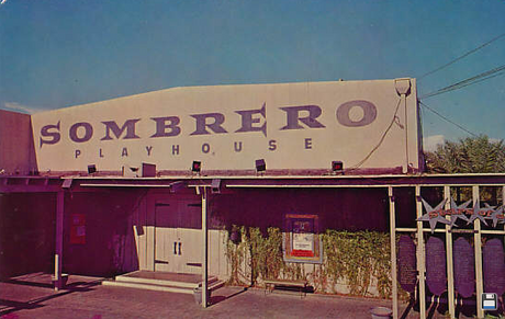 The Sombrero Playhouse (Phoenix), back in the day.