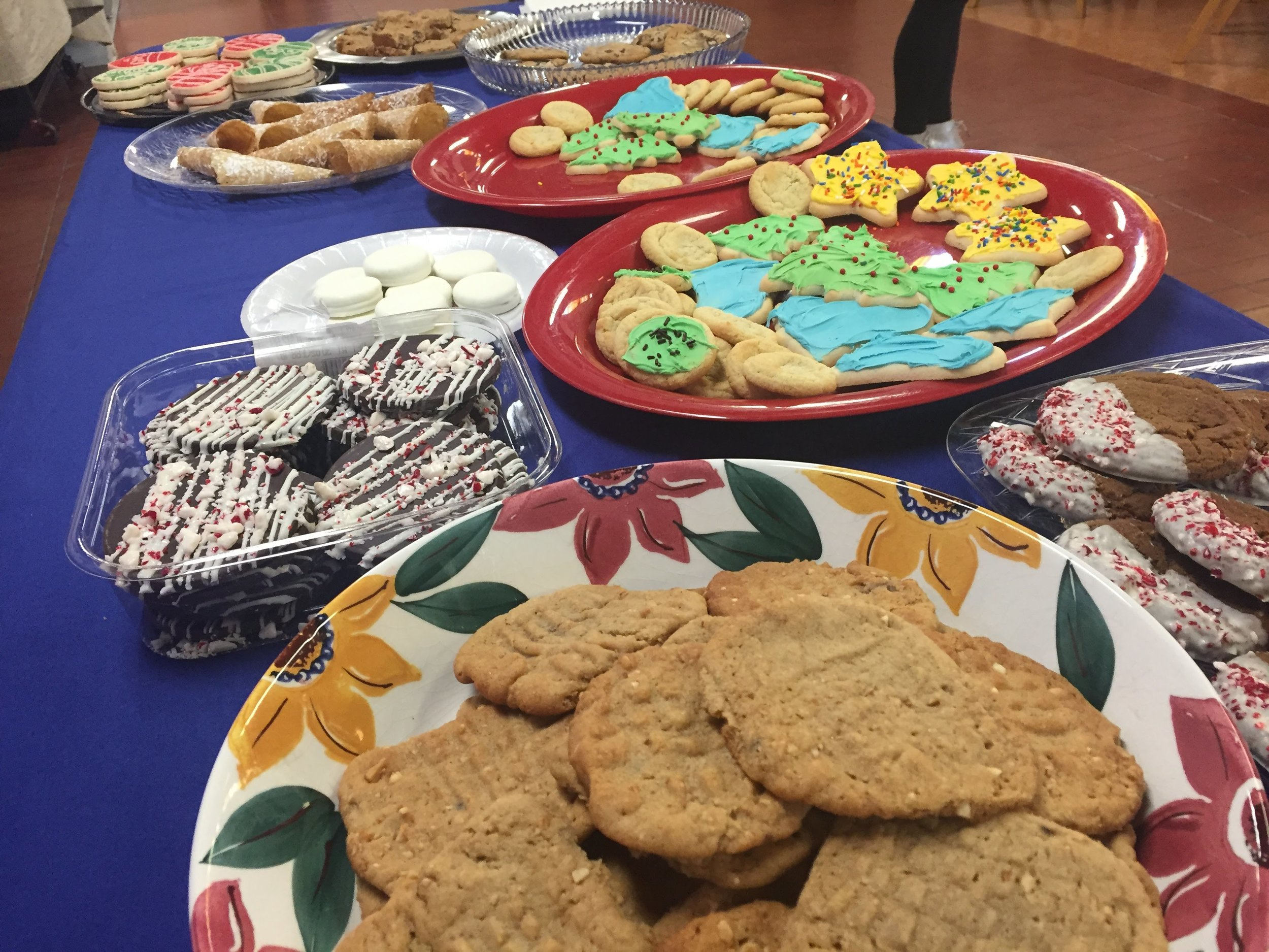 Cookie Table - for the win