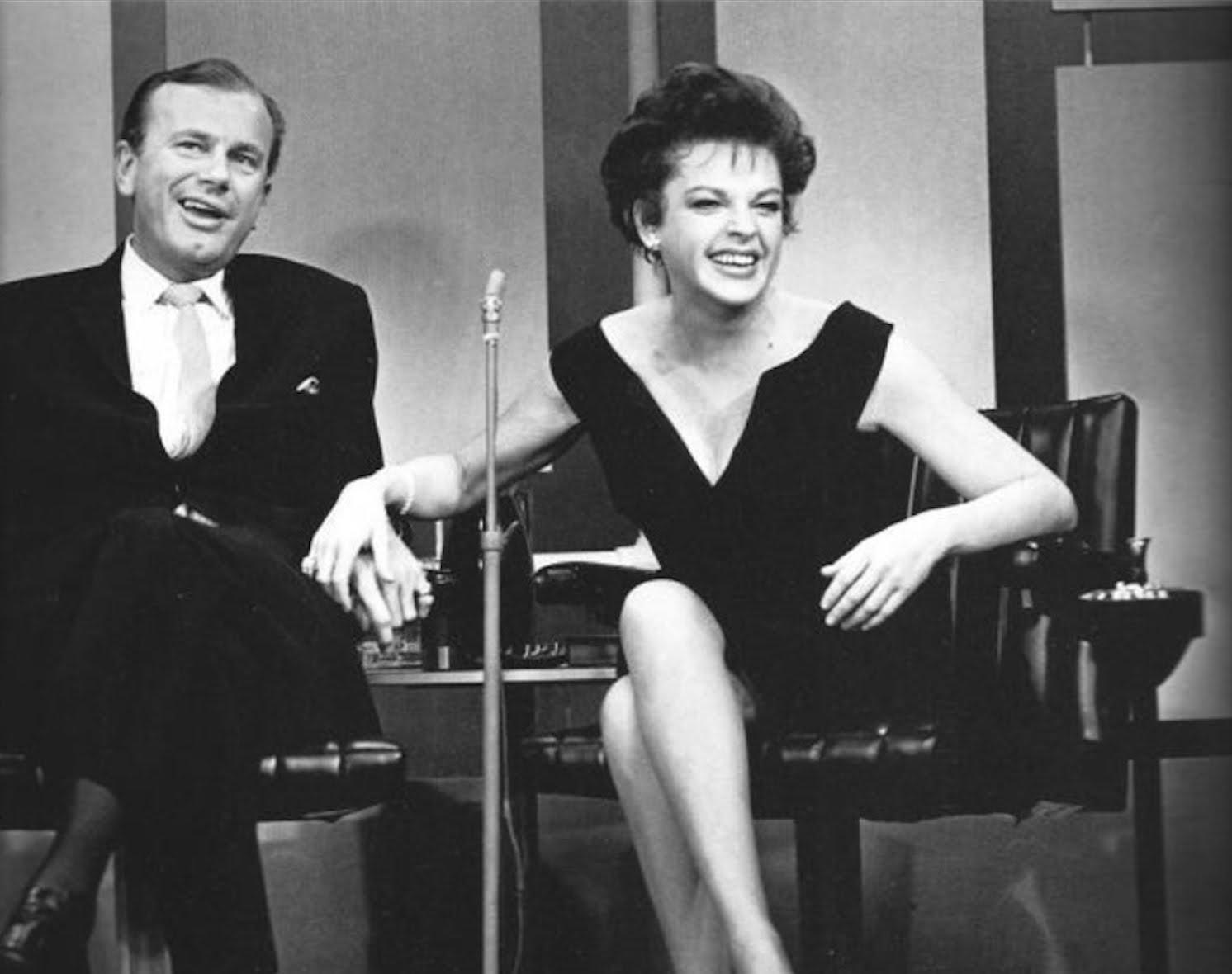 Jack Paar with Judy Garland