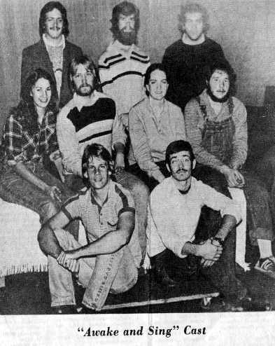 From 1981: I'm in the middle row with the beard. Brian is at my feet. WHERE HE BELONGS.