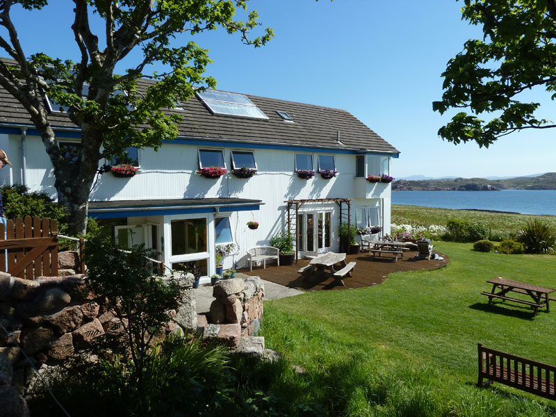 The St. Columba Hotel on Iona, where we'll spend a few nights.