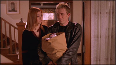 Willow and Andrew (from Buffy, Alyson Hannigan and Tom Lenk)
