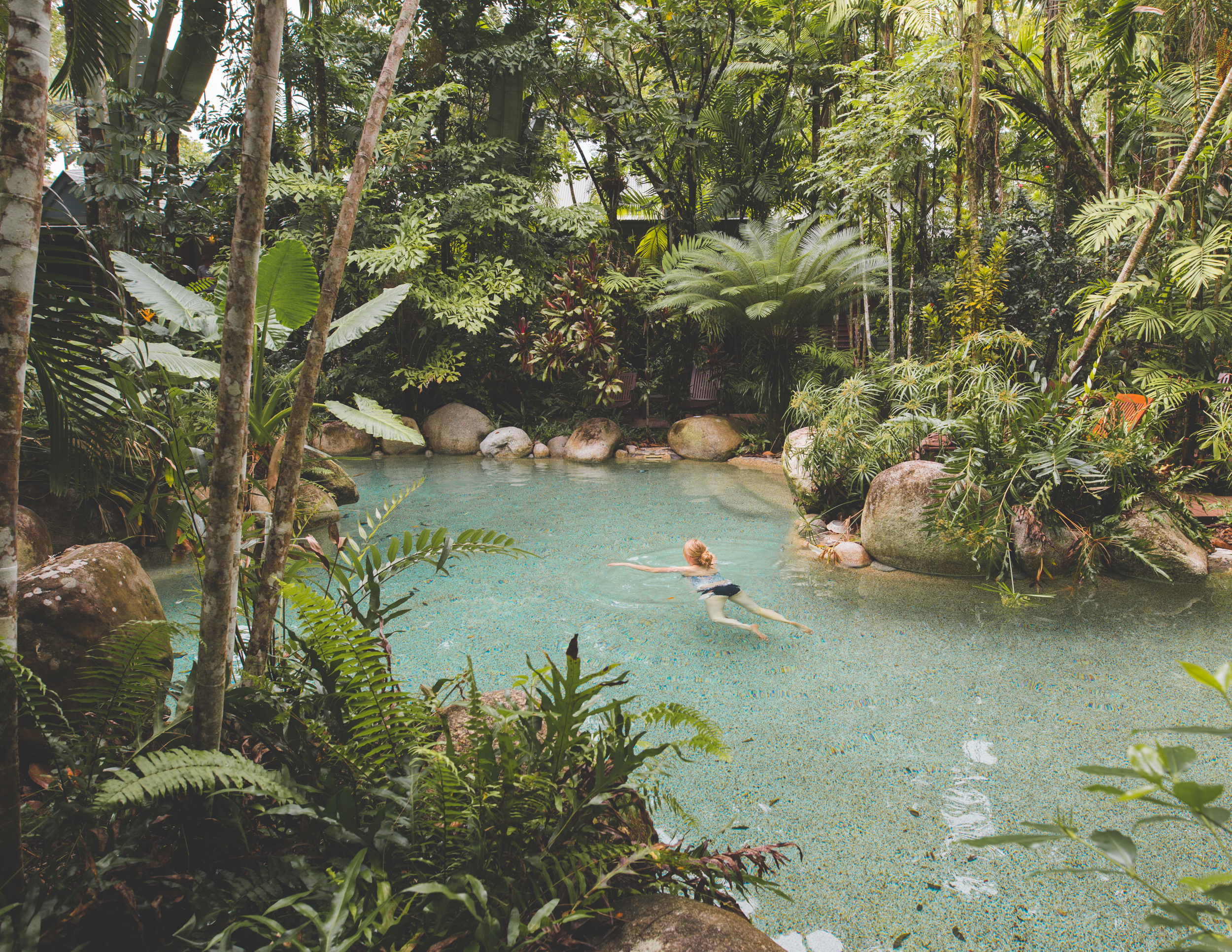 Top 5 unique hotels in Australia: The pool at Silky Oaks
