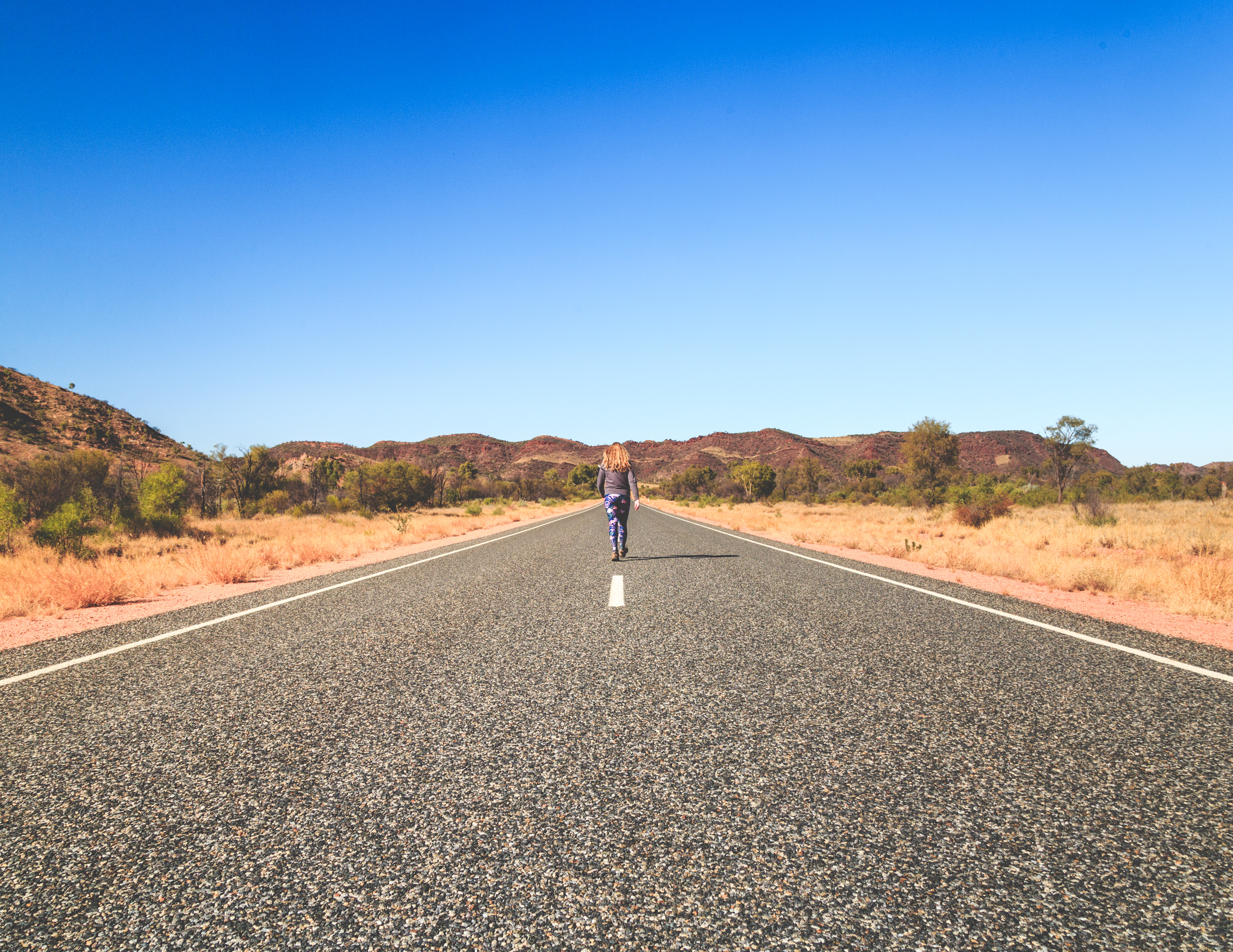 You can go hours without seeing anyone on the Ross Highway