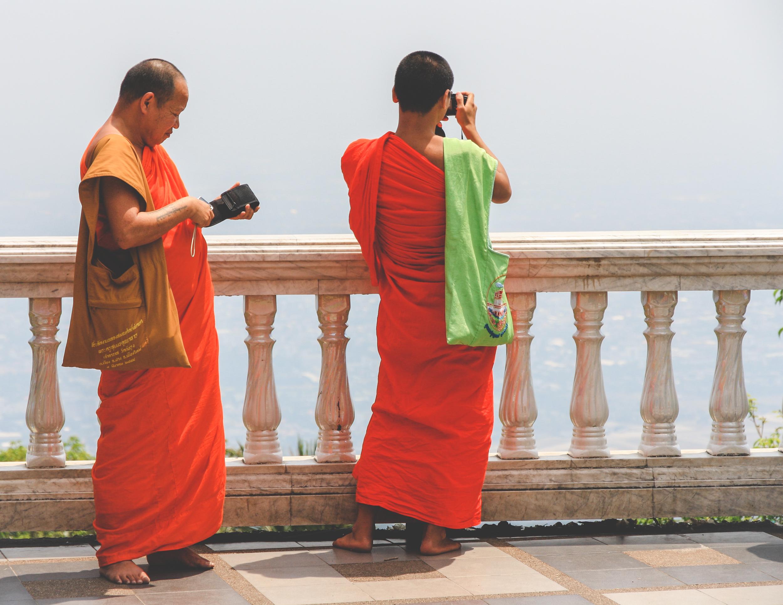 Monks, Thailand
