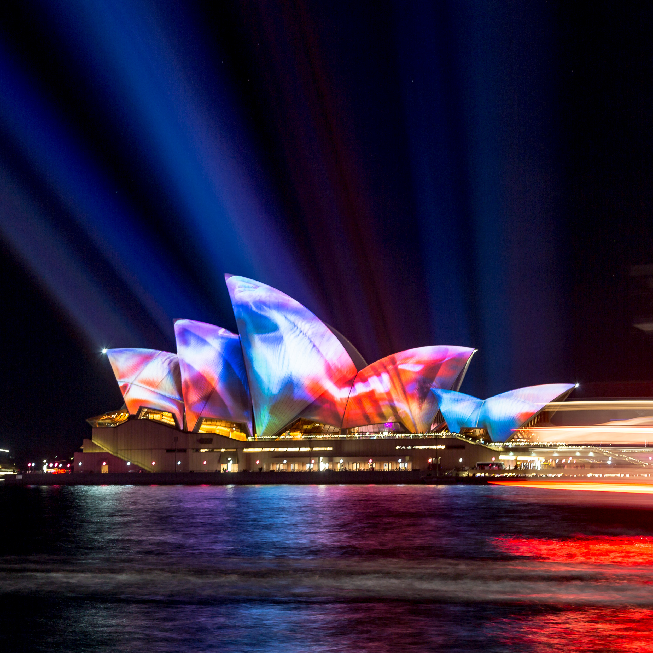 Cheap things to do in Sydney: Vivid Sydney