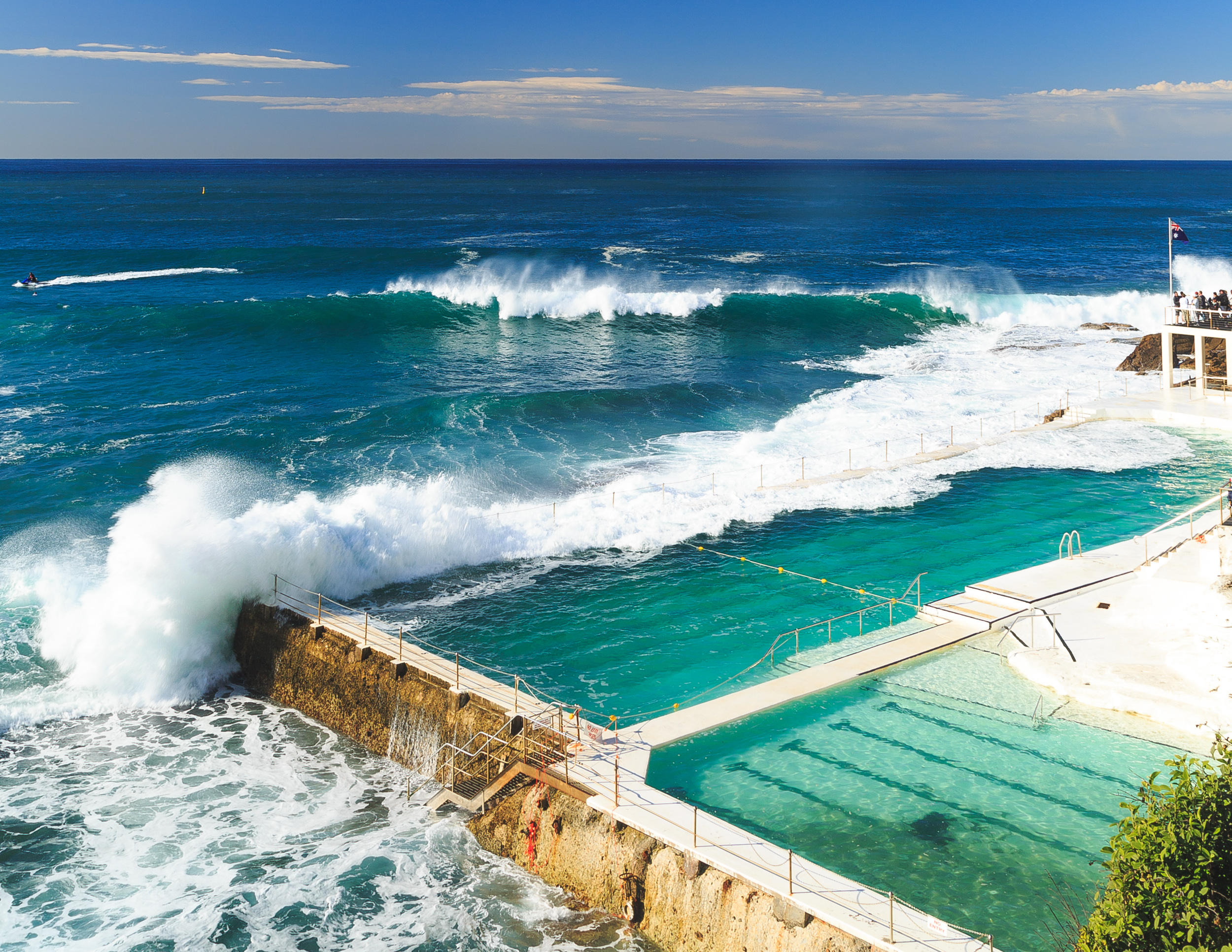 Cheap things to do in Sydney: The view from Bondi Icebergs