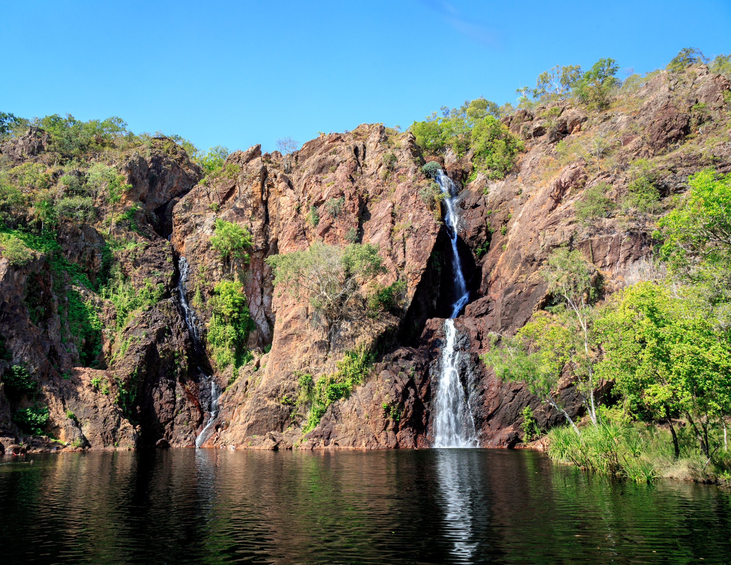 Wangi Falls in Litchfield National Park
