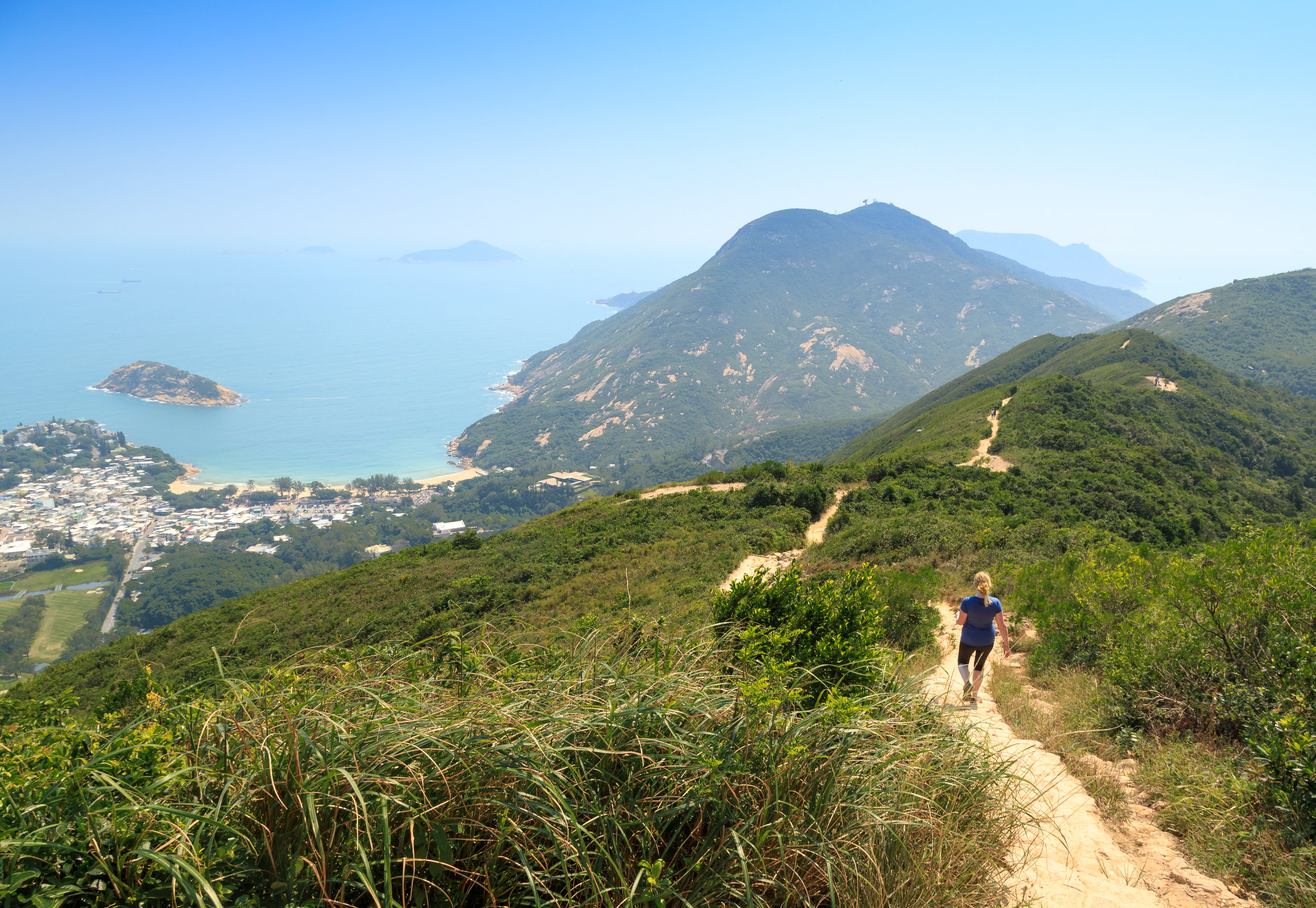 Instagrammable spots in Hong Kong: Dragon's Back Trail