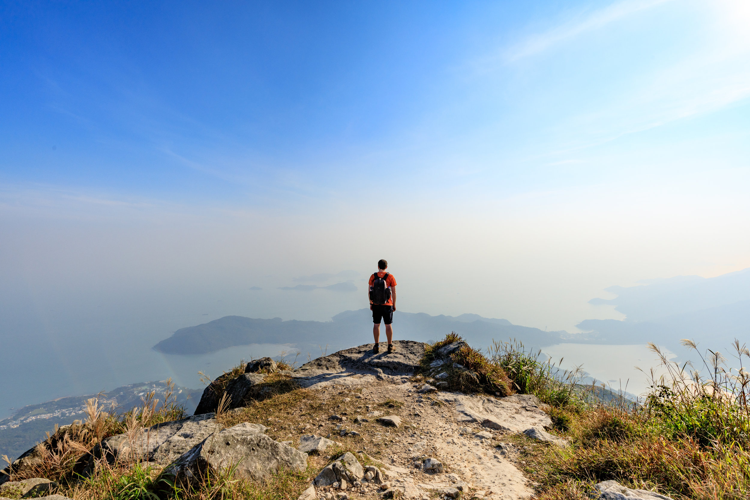 Instagrammable spots in Hong Kong: Lantau Peak, Hong Kong