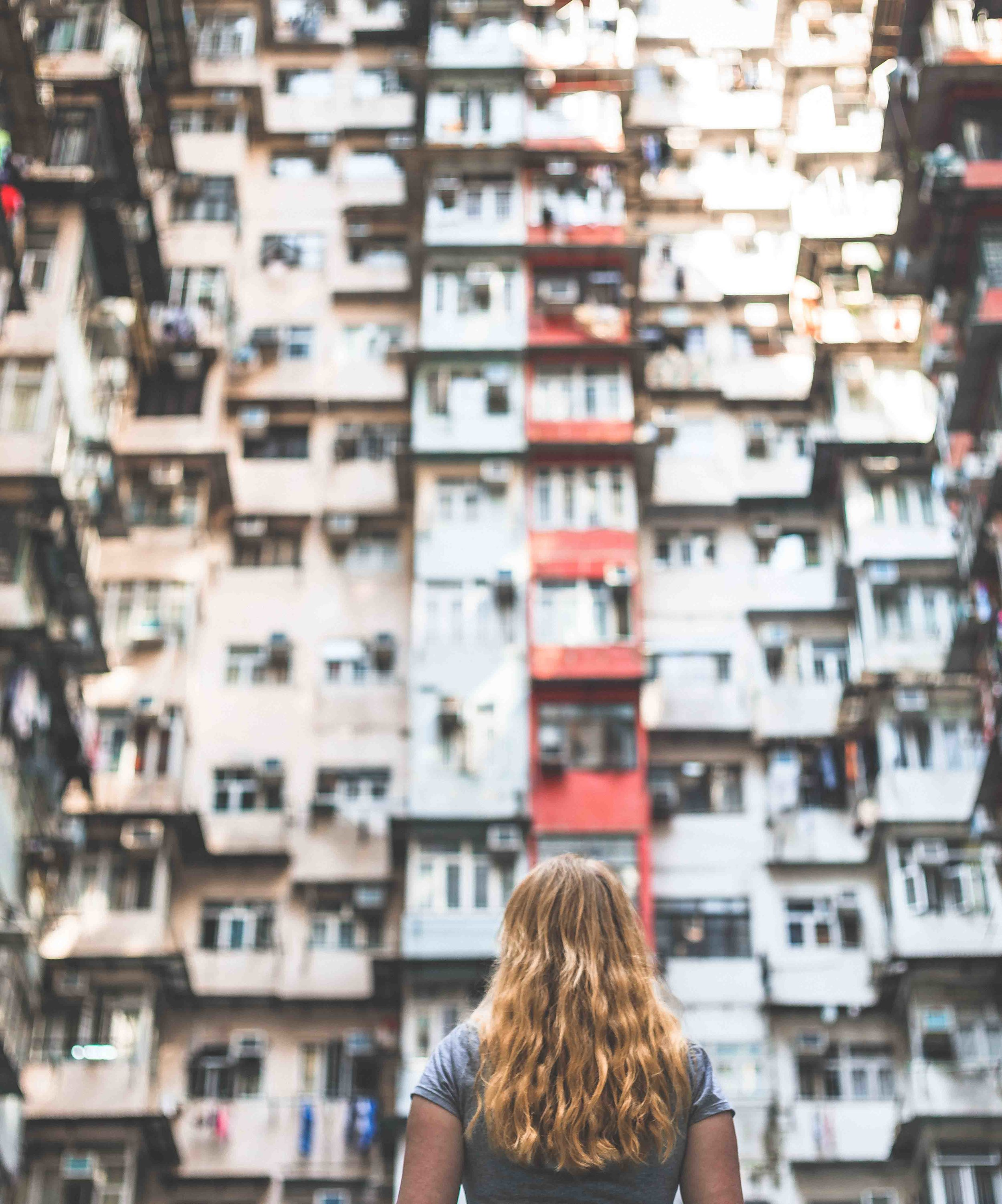 Instagrammable spots in Hong Kong: Montaine Mansions, Hong Kong