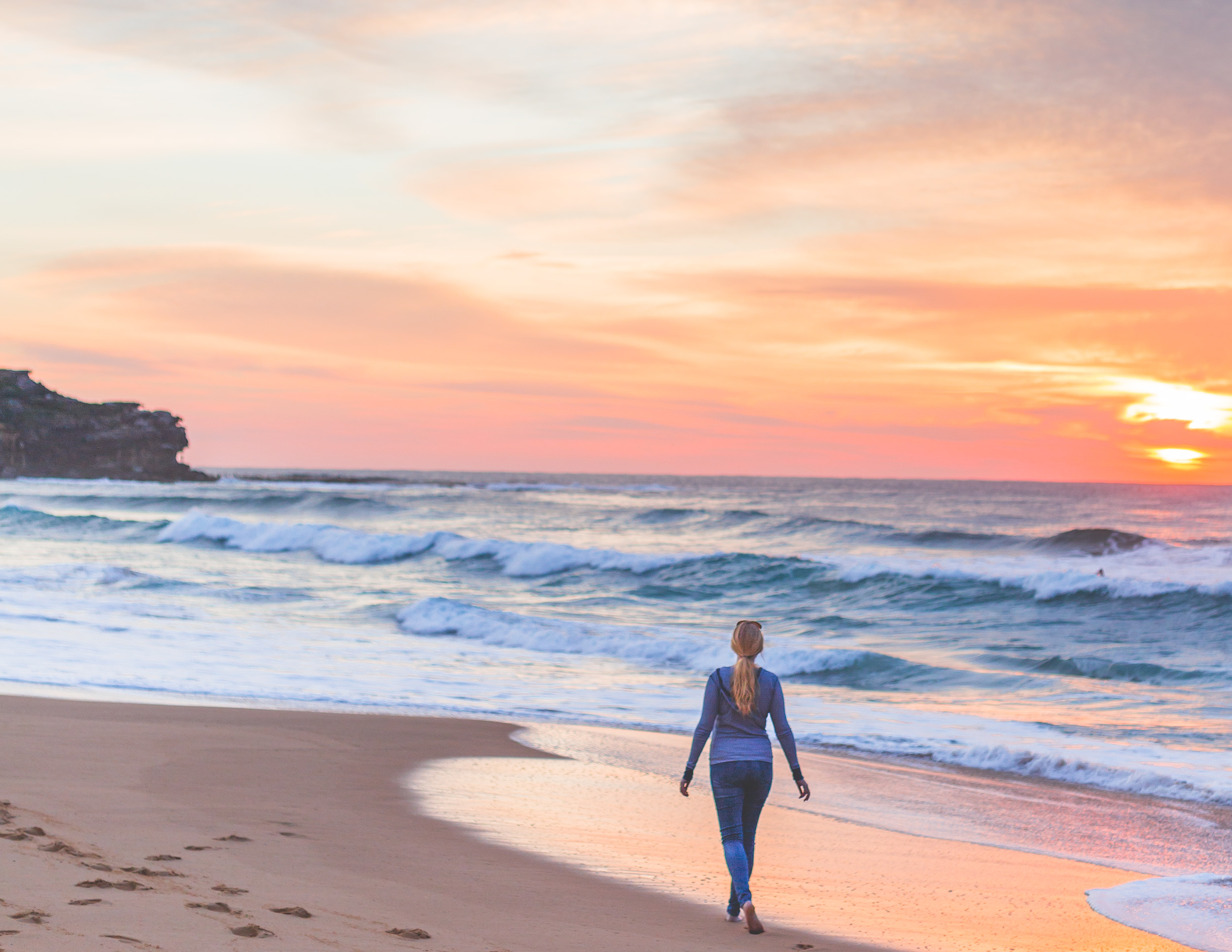Sunrise at Curl Curl Beach