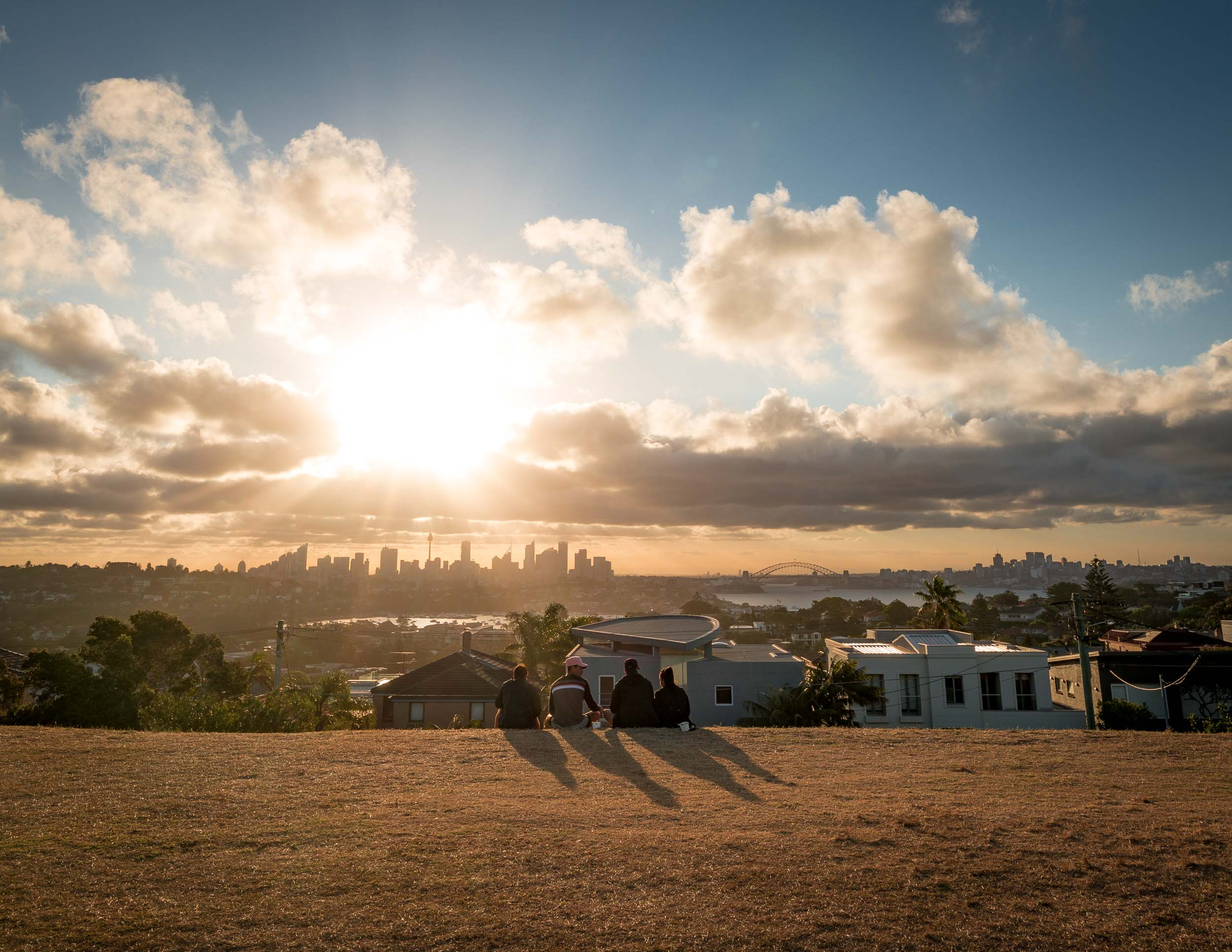 The best Sydney Sunset Spots: Dudley Page Reserve, Vaucluse