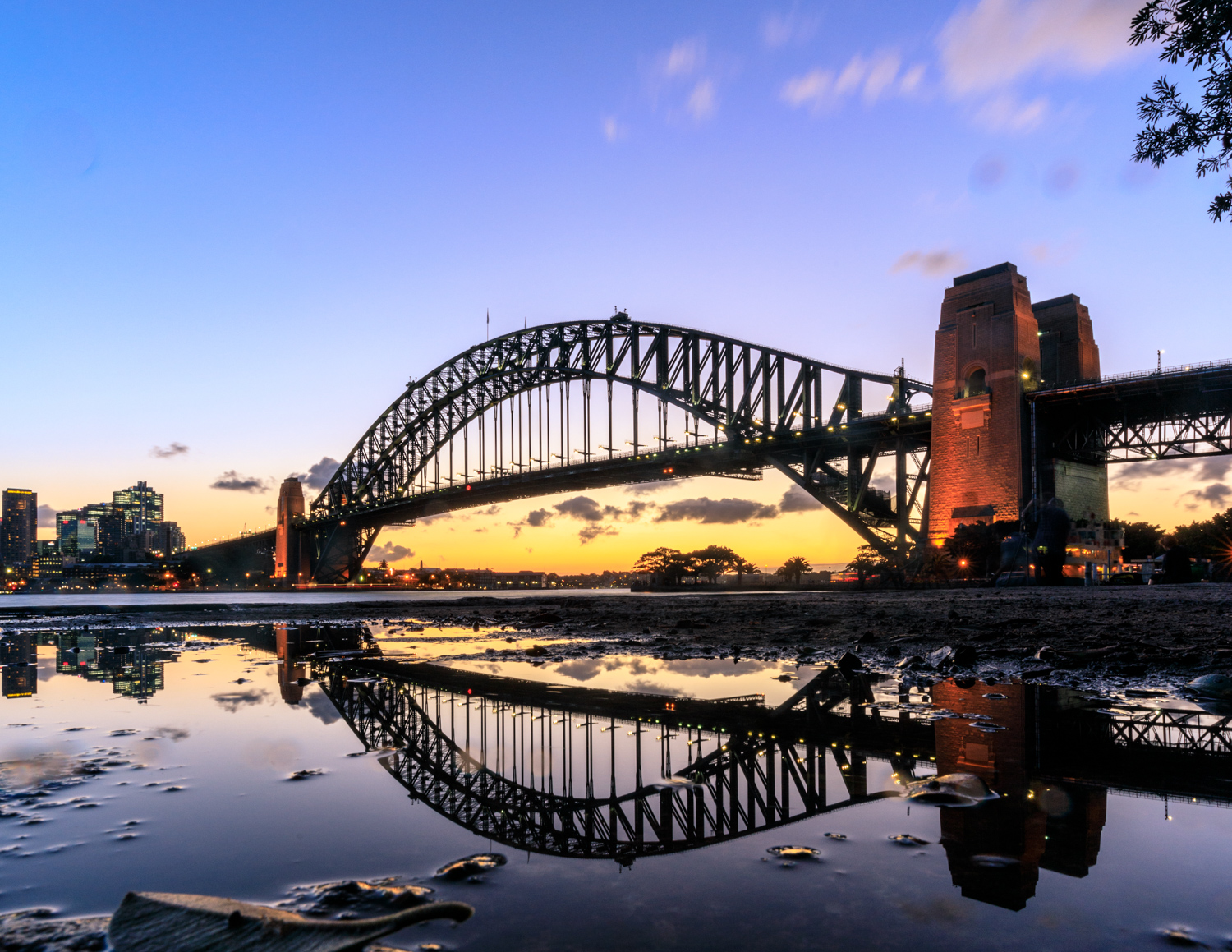The best Sydney Sunset Spots: The puddle at Geoffrey St Wharf, Kirribilli