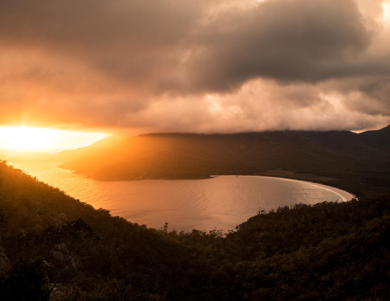 Wineglass Bay Sunrise, Tasmania