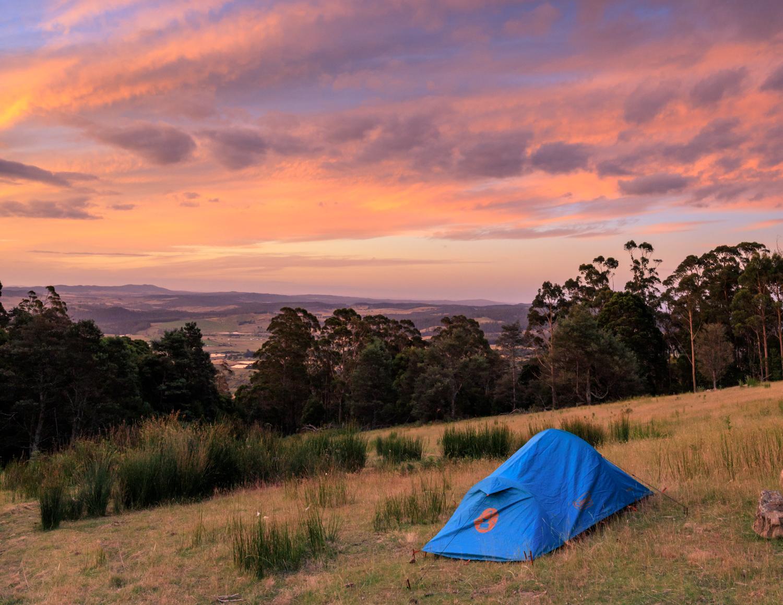 Sunset at Mount Arthur