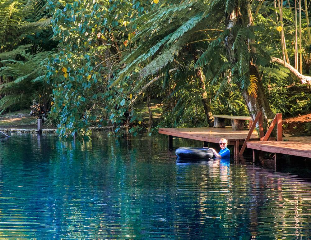 Nanda Blue Hole, Espiritu Santo Vanuatu