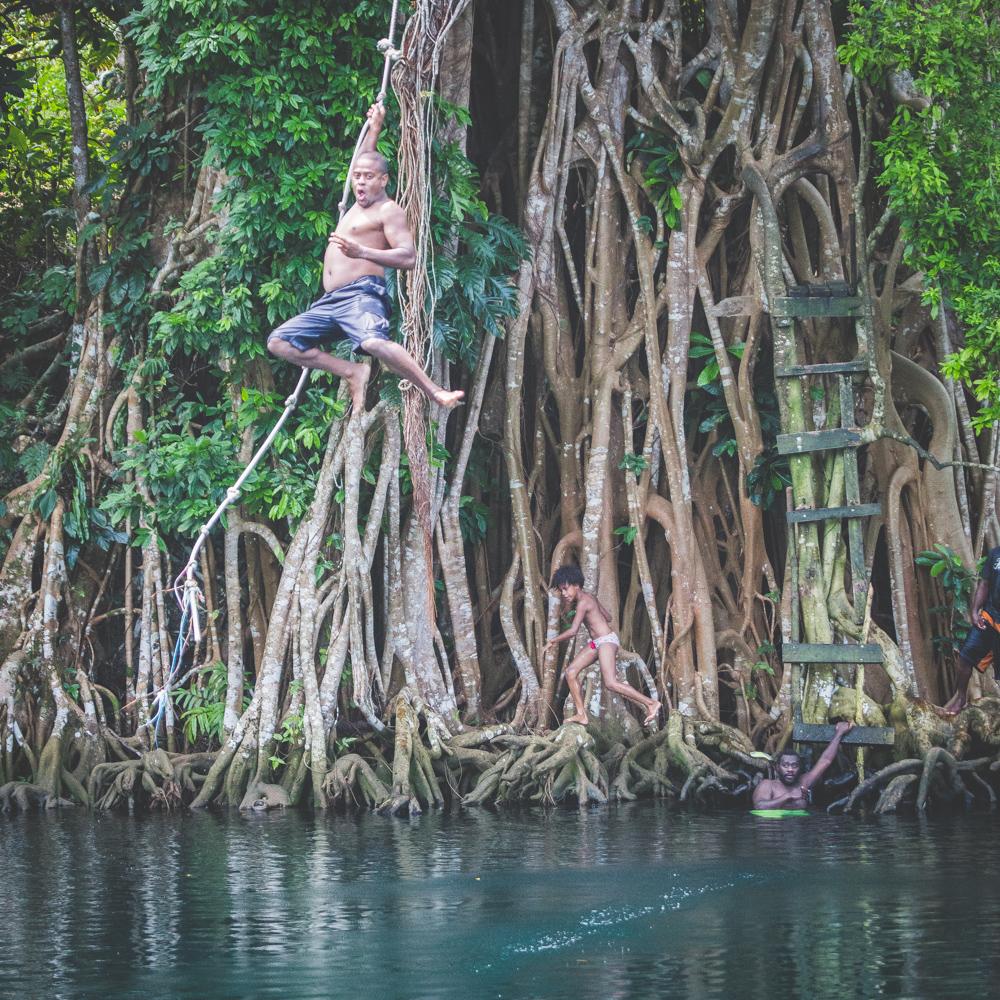 Matevulu Blue Hole, Espiritu Santo, Vanuatu,