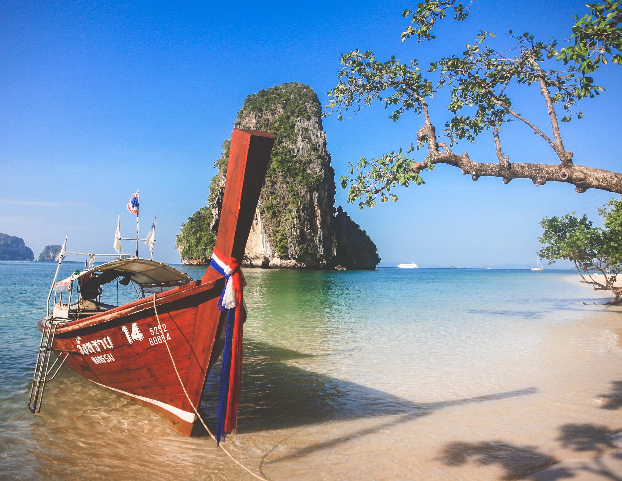 Ao Phra Beach, Railay, Thailand