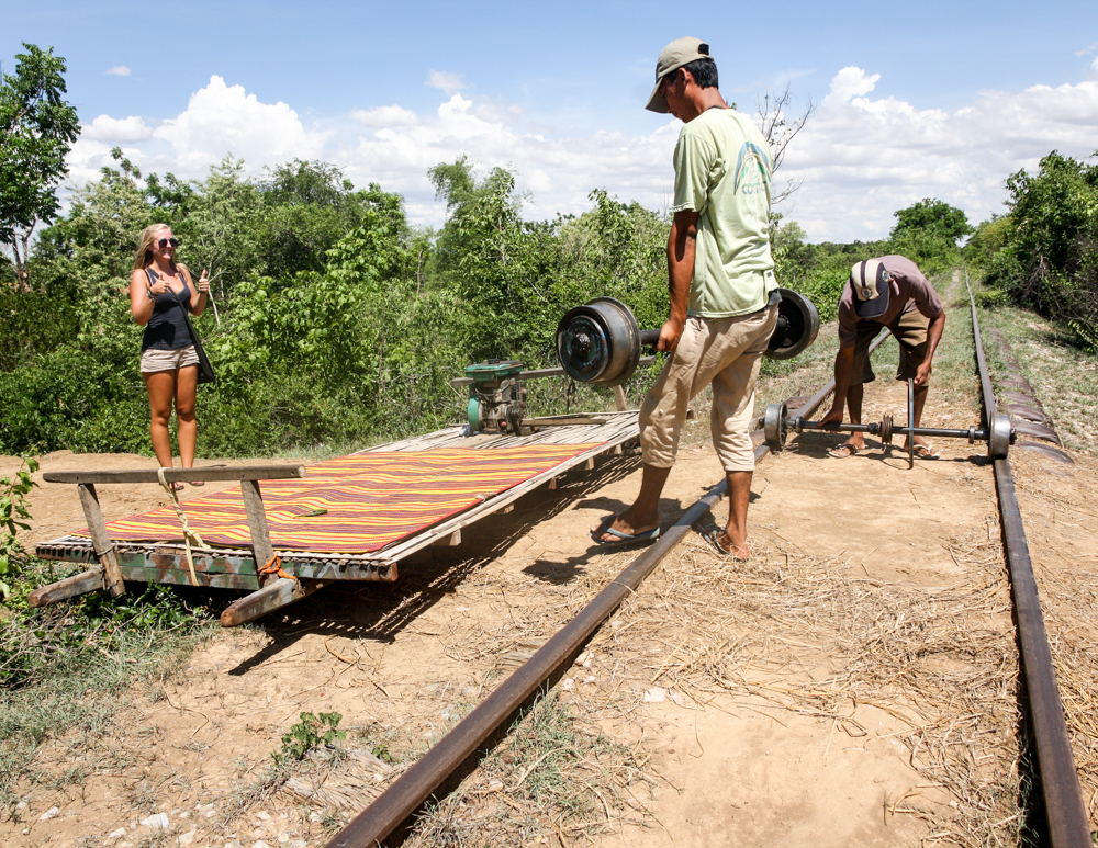 Best things to do in Cambodia, Bamboo Train