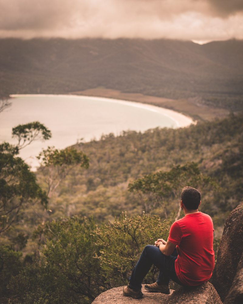 Most Instagrammable spots in Tasmania, Wineglass Bay Lookout