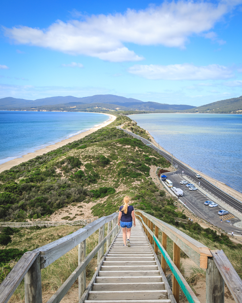 Instagrammable spots Tasmania, The Neck Bruny Island