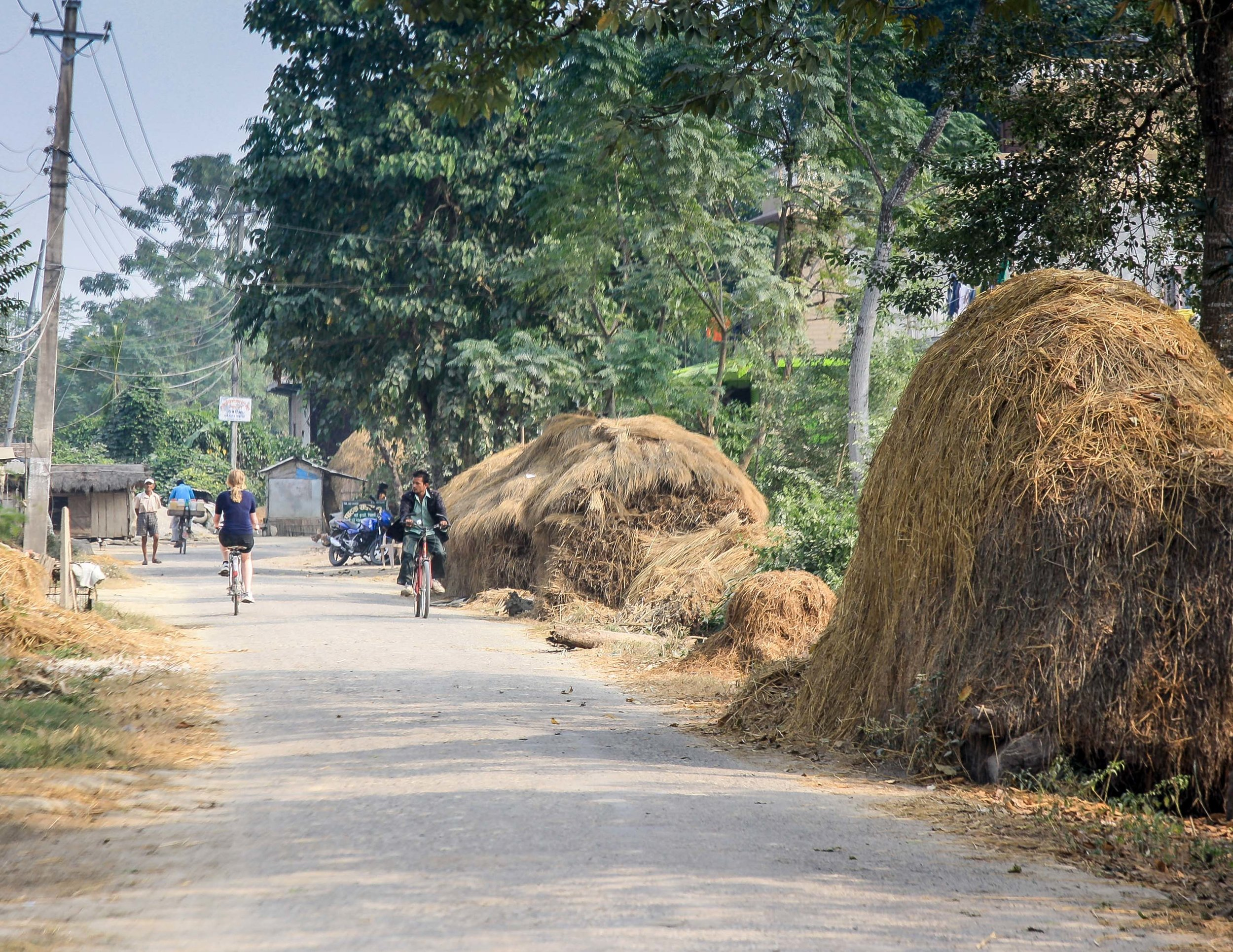 Best things to do in Nepal: cycle round Sarah