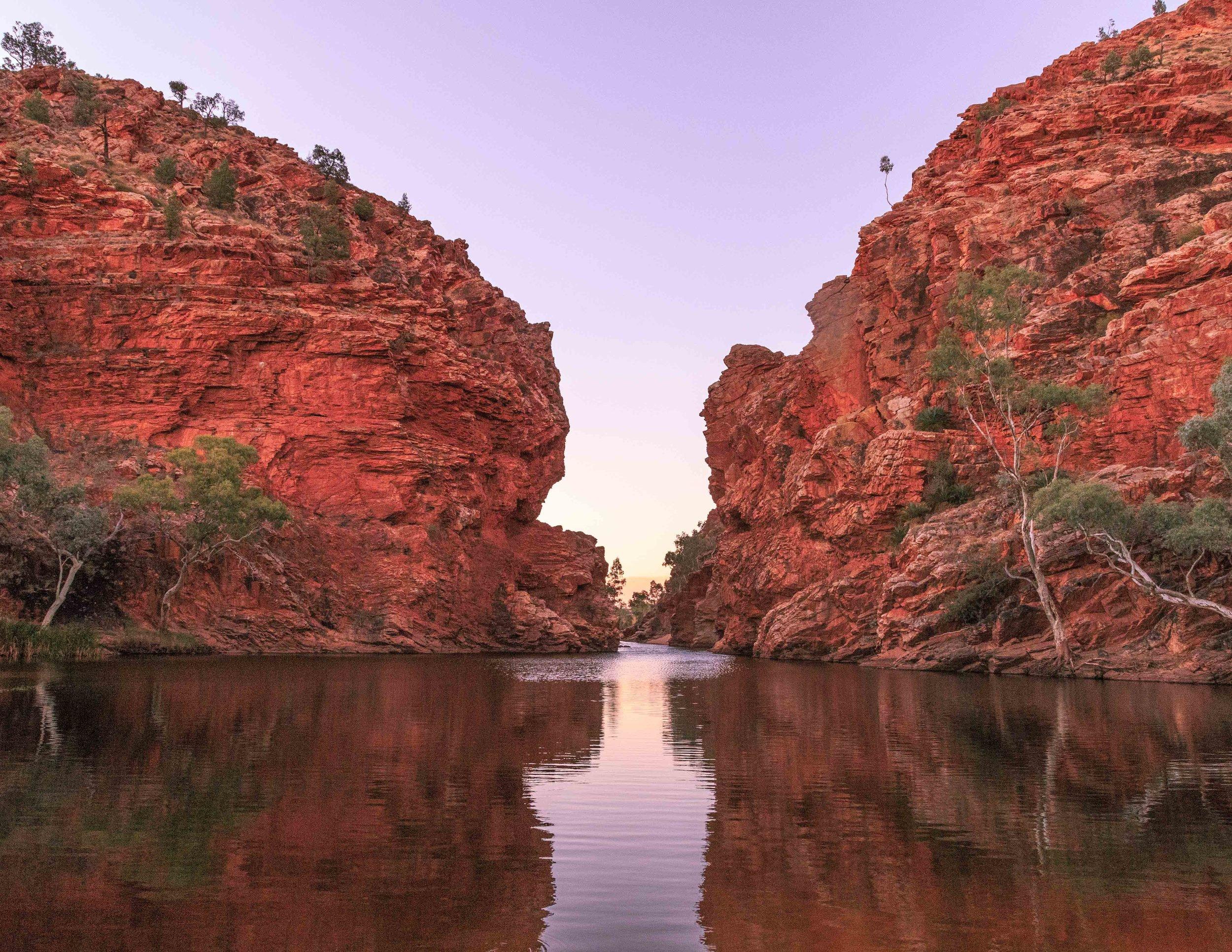 Instagrammable spots in the Outback: Ellery Big Creek