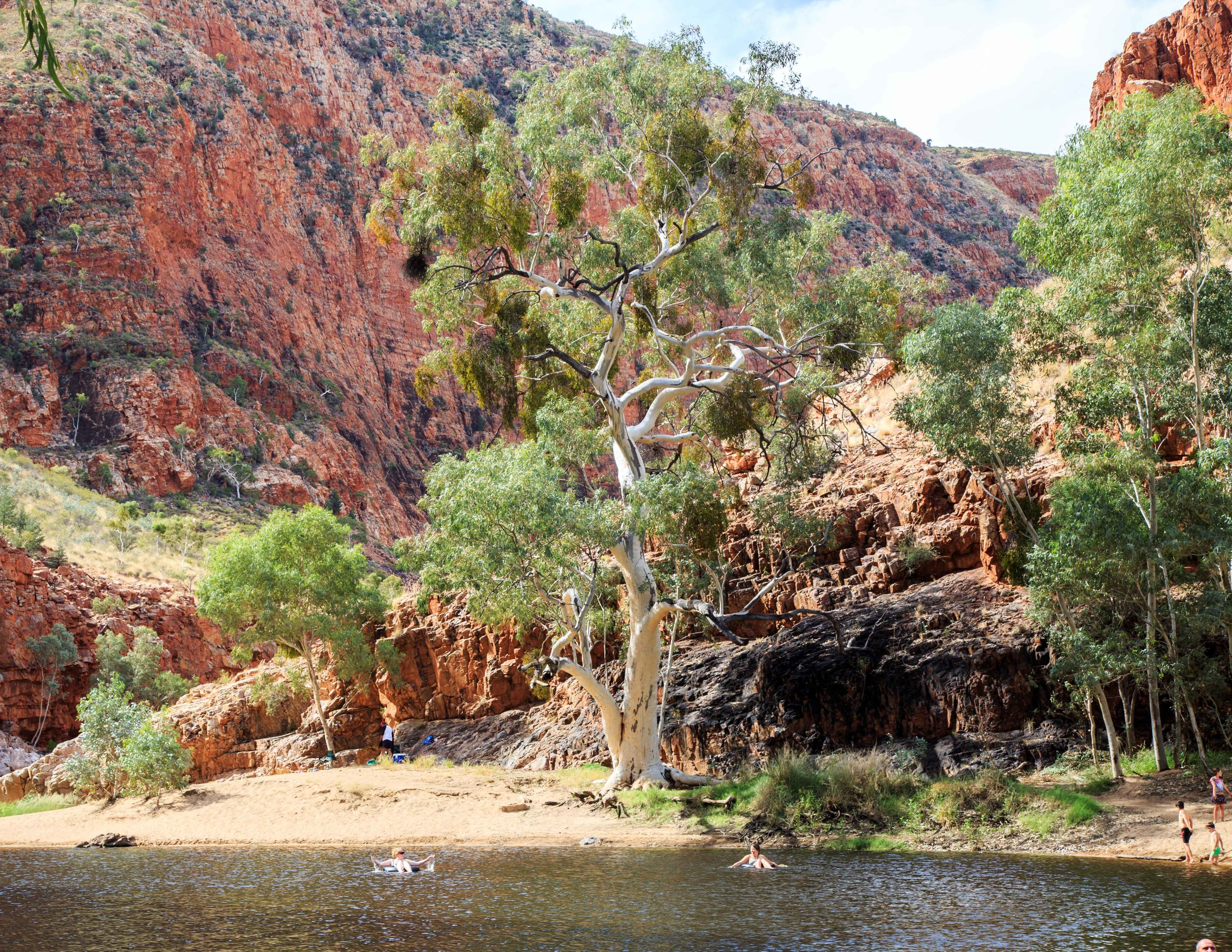Instagrammable spots in the outback: Ormiston Gorge