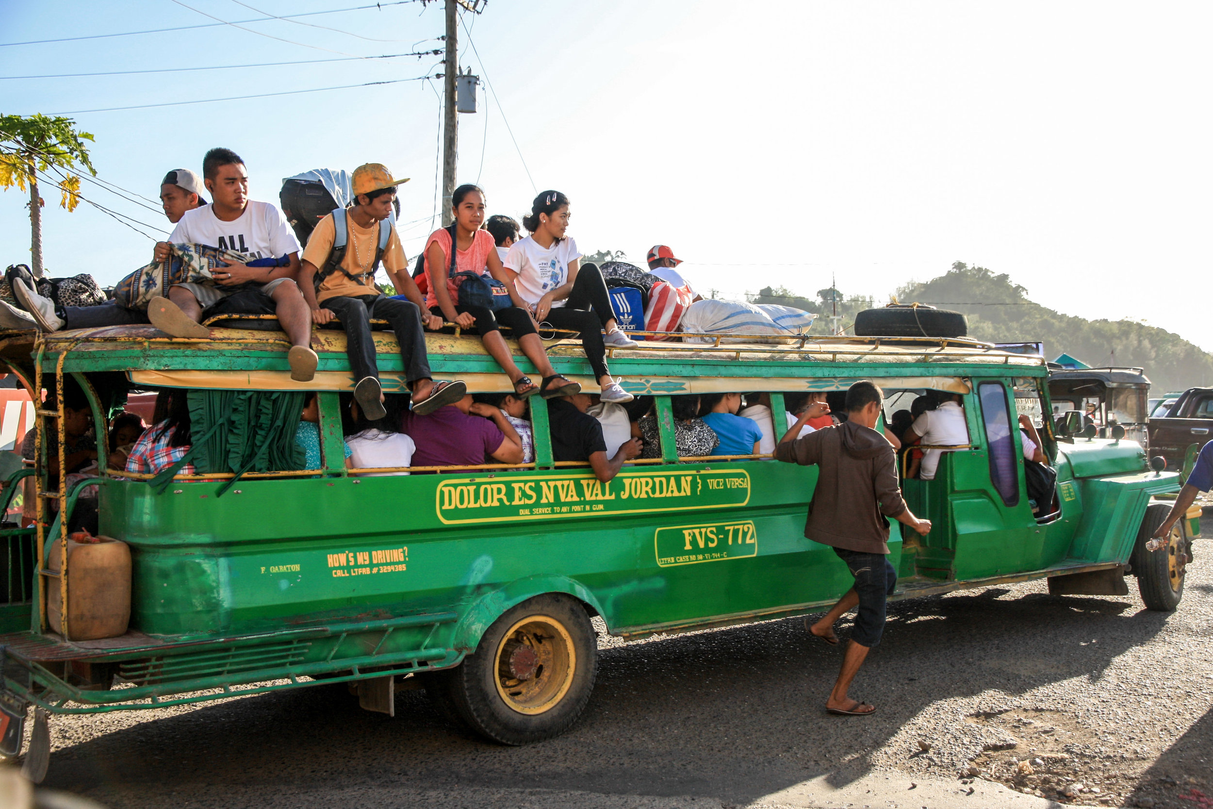 Best things to do in Luzon (The Philippines): Getting a jeepney