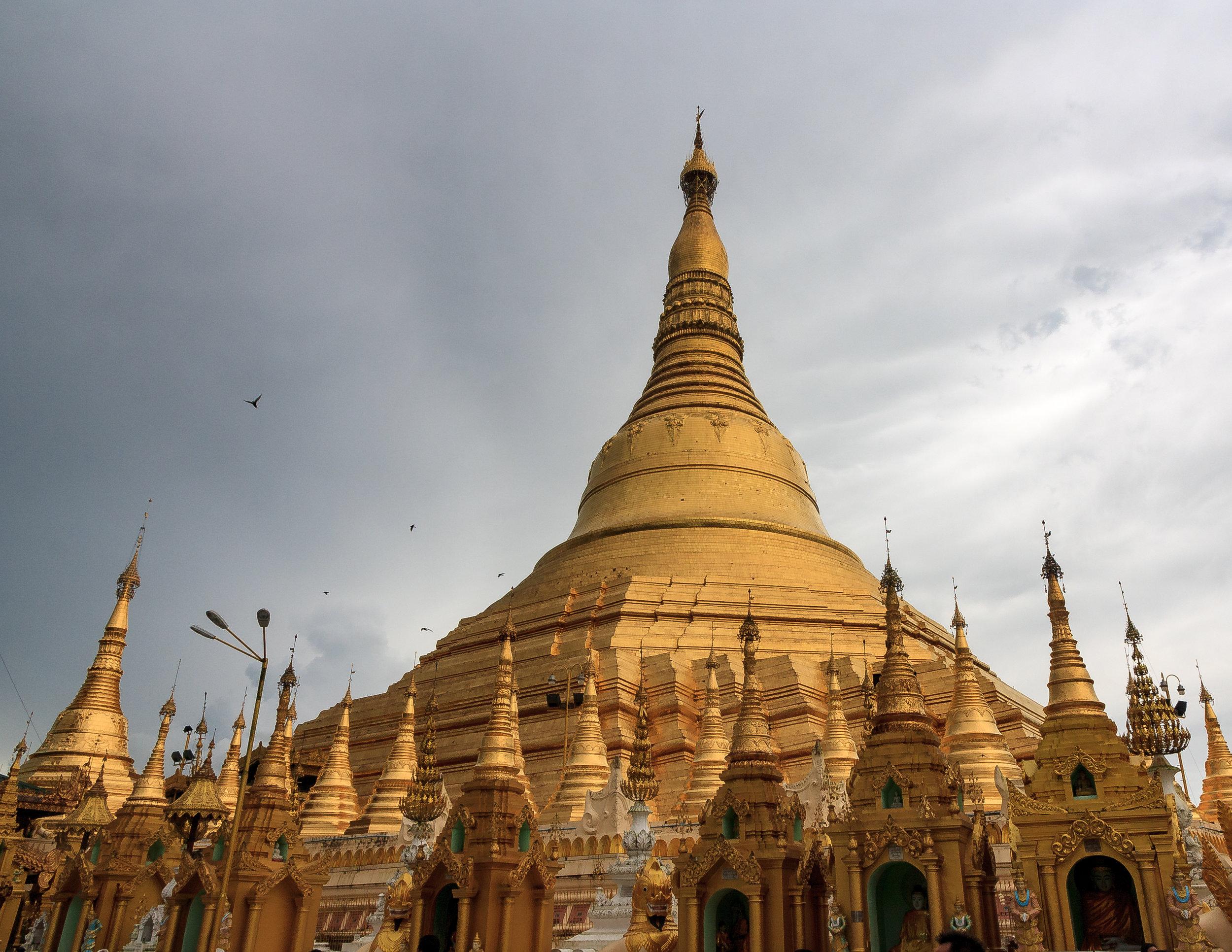 Myanmar Destinations: Shwedagon Paya, Yangon