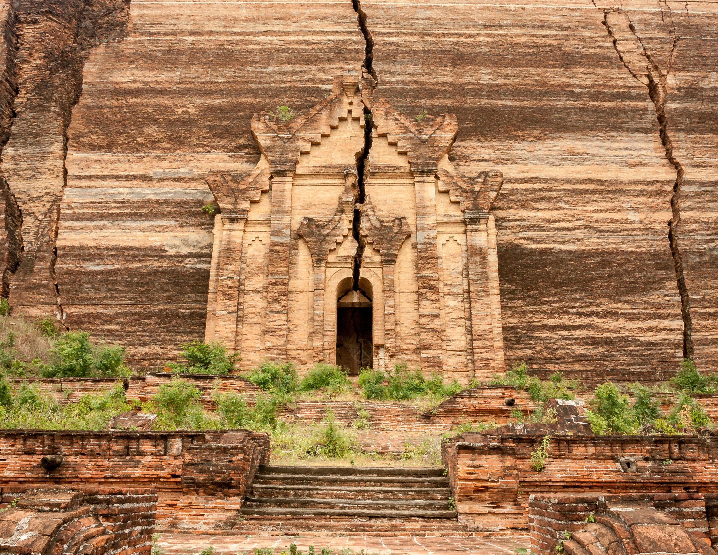 Myanmar Destinations: Mingun