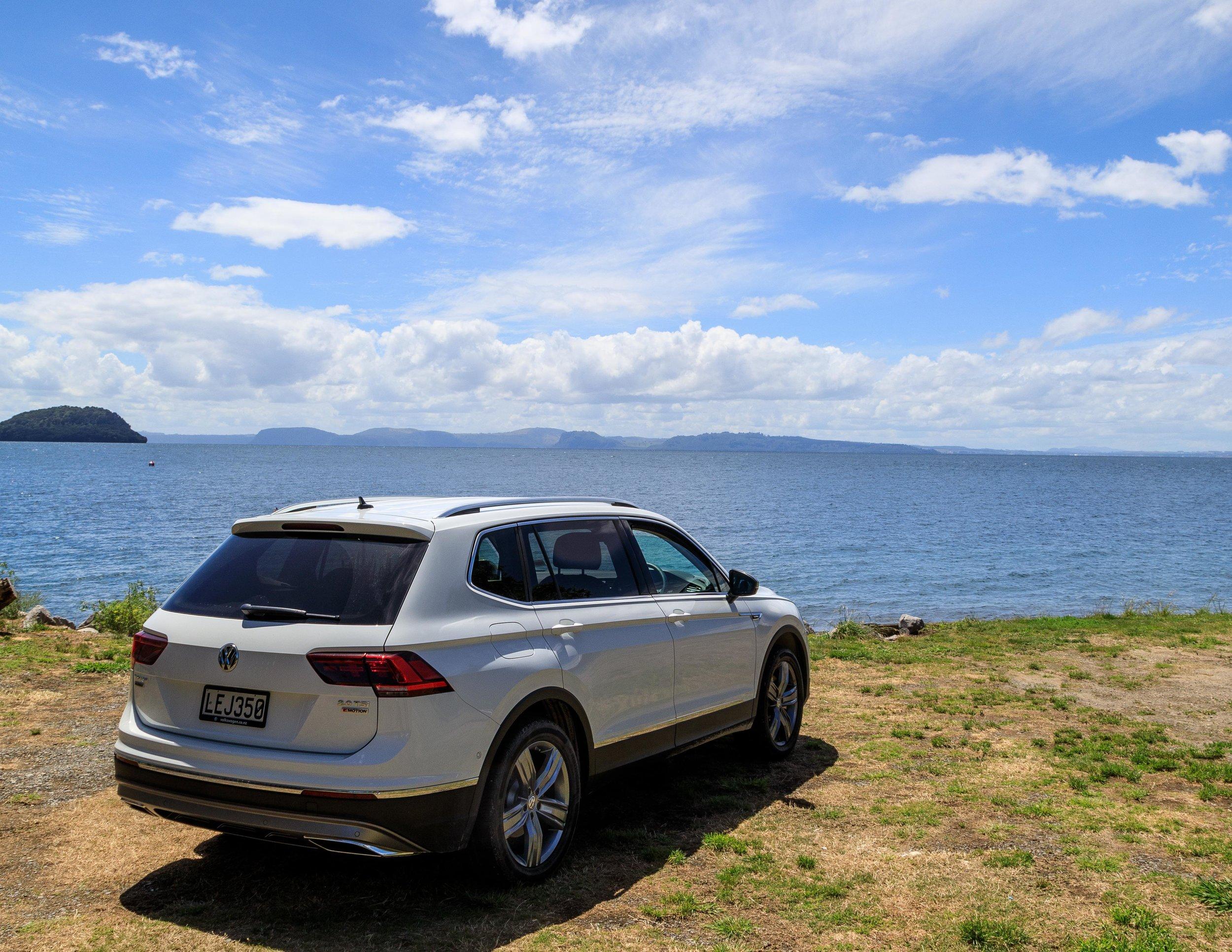 A brief stop at Lake Taupo. We'll be back!
