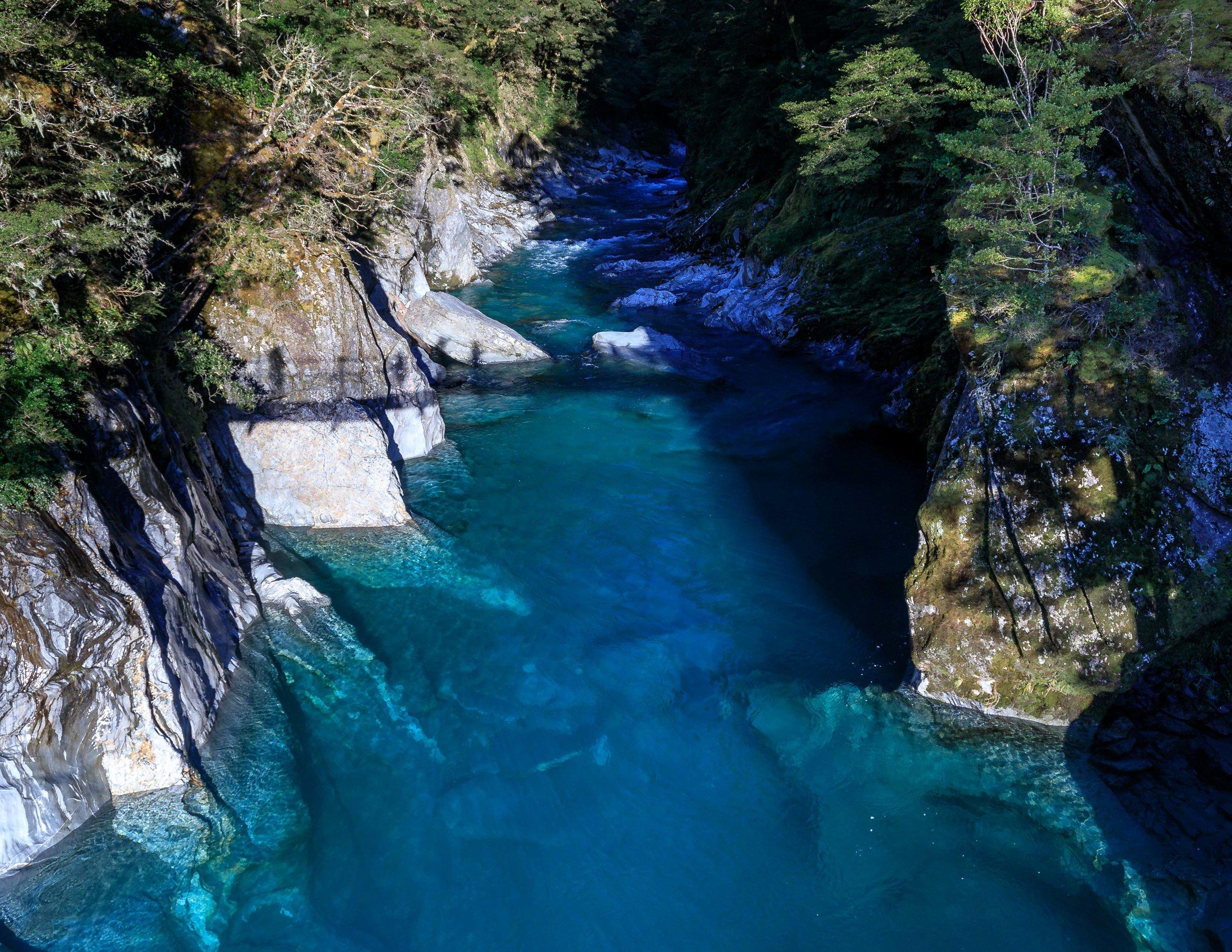 Haast Blue Pools, New Zealand